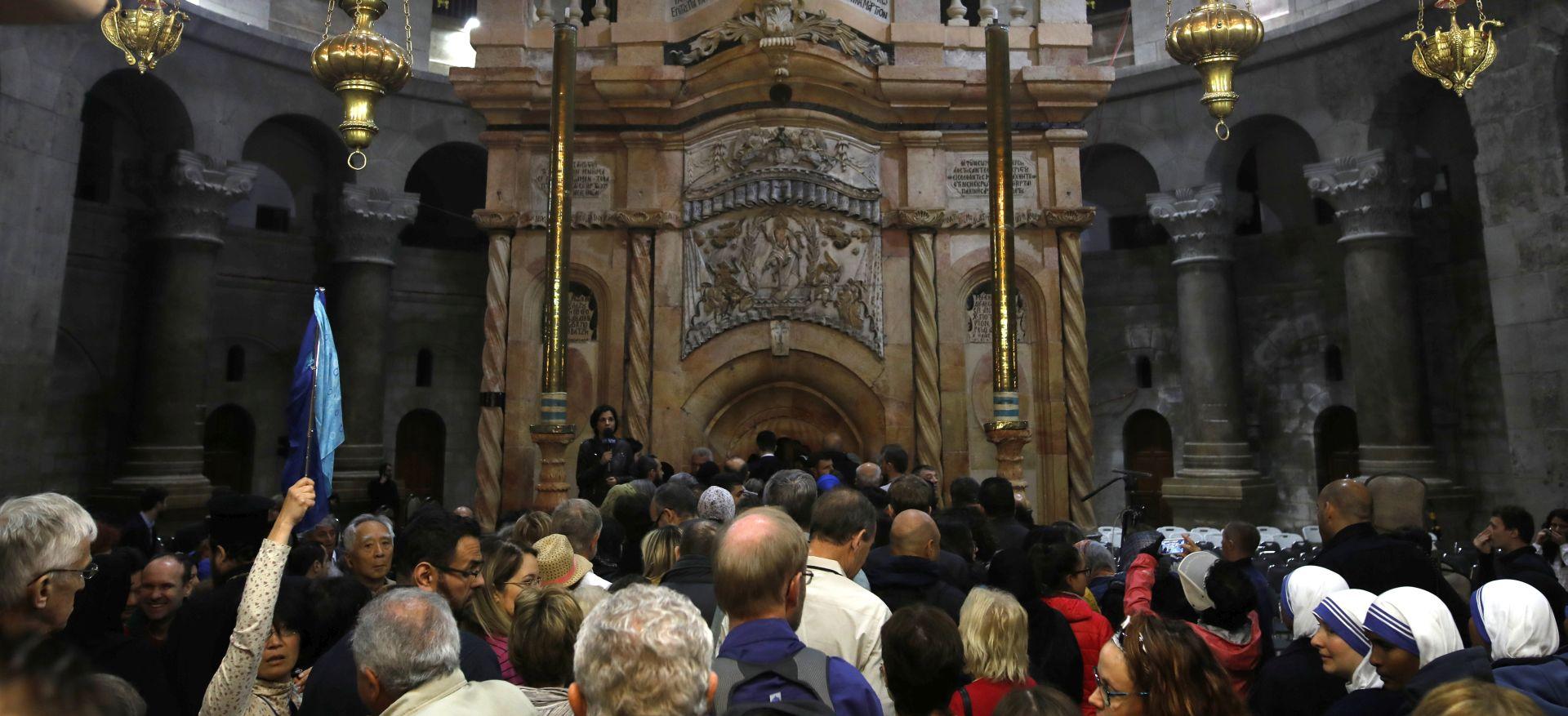 Kršćani slave Uskrs u Jeruzalemu