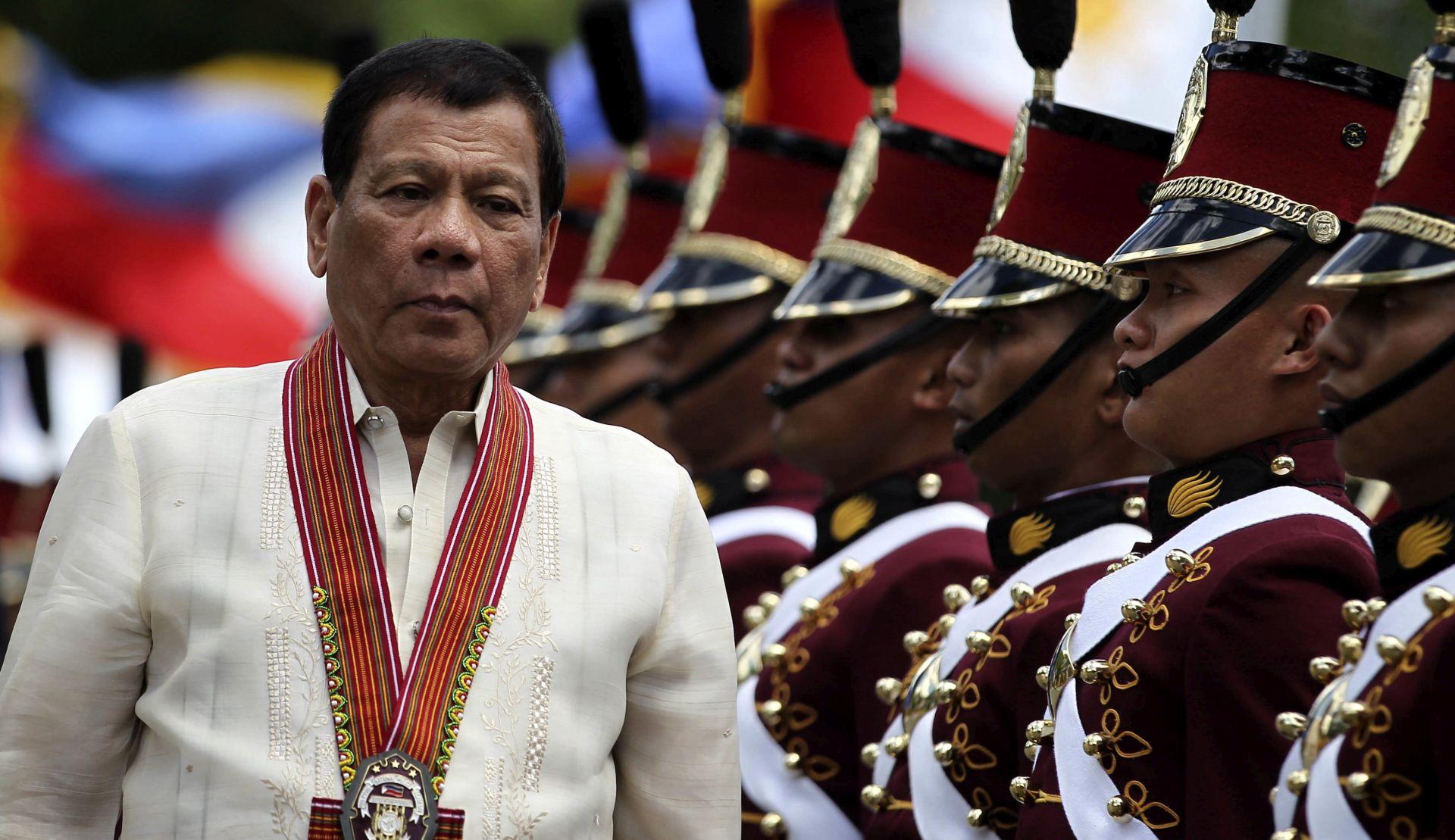 Duterte prijeti izgonom europskih veleposlanika zbog kritiziranja rata protiv droge
