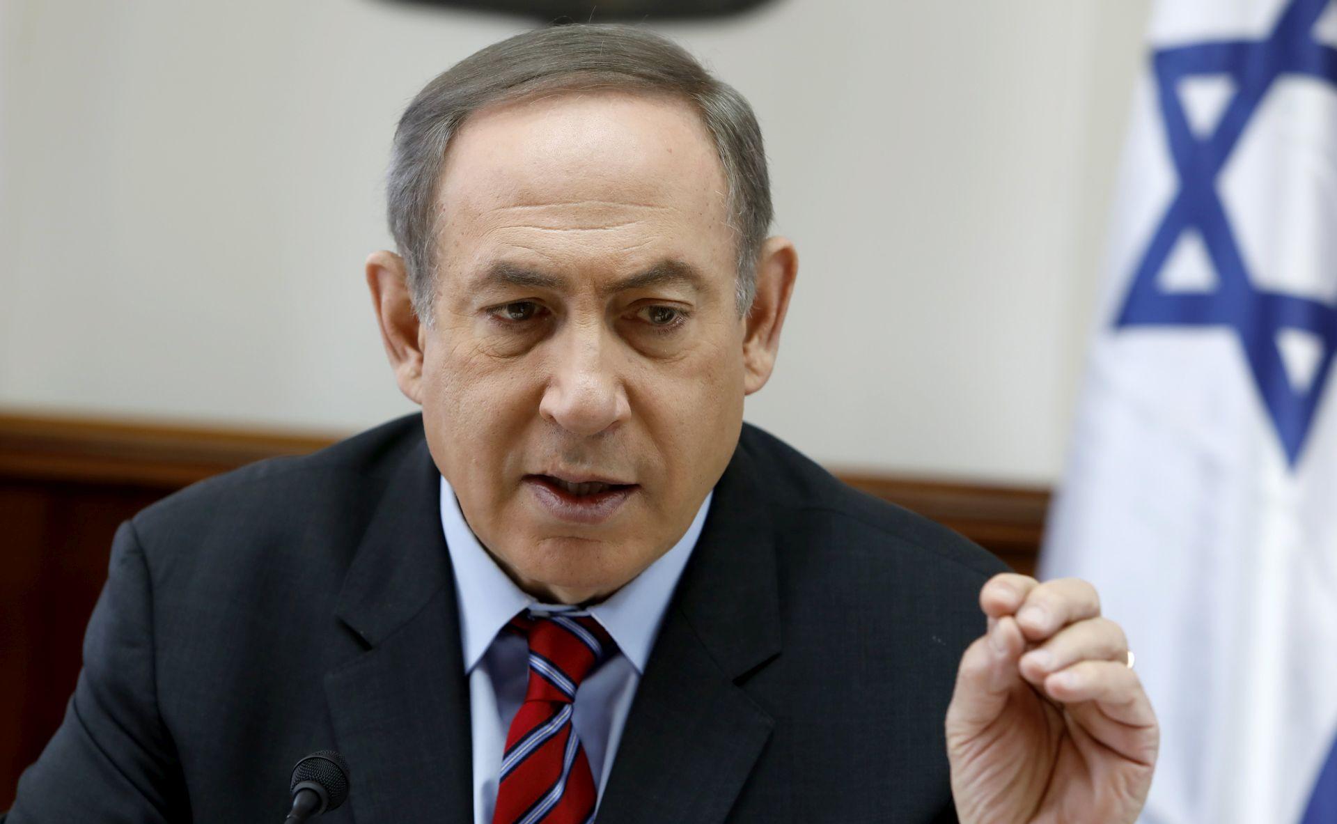 Netanyahu smatra da je Washington izveo udar na Siriju iz moralnih razloga
