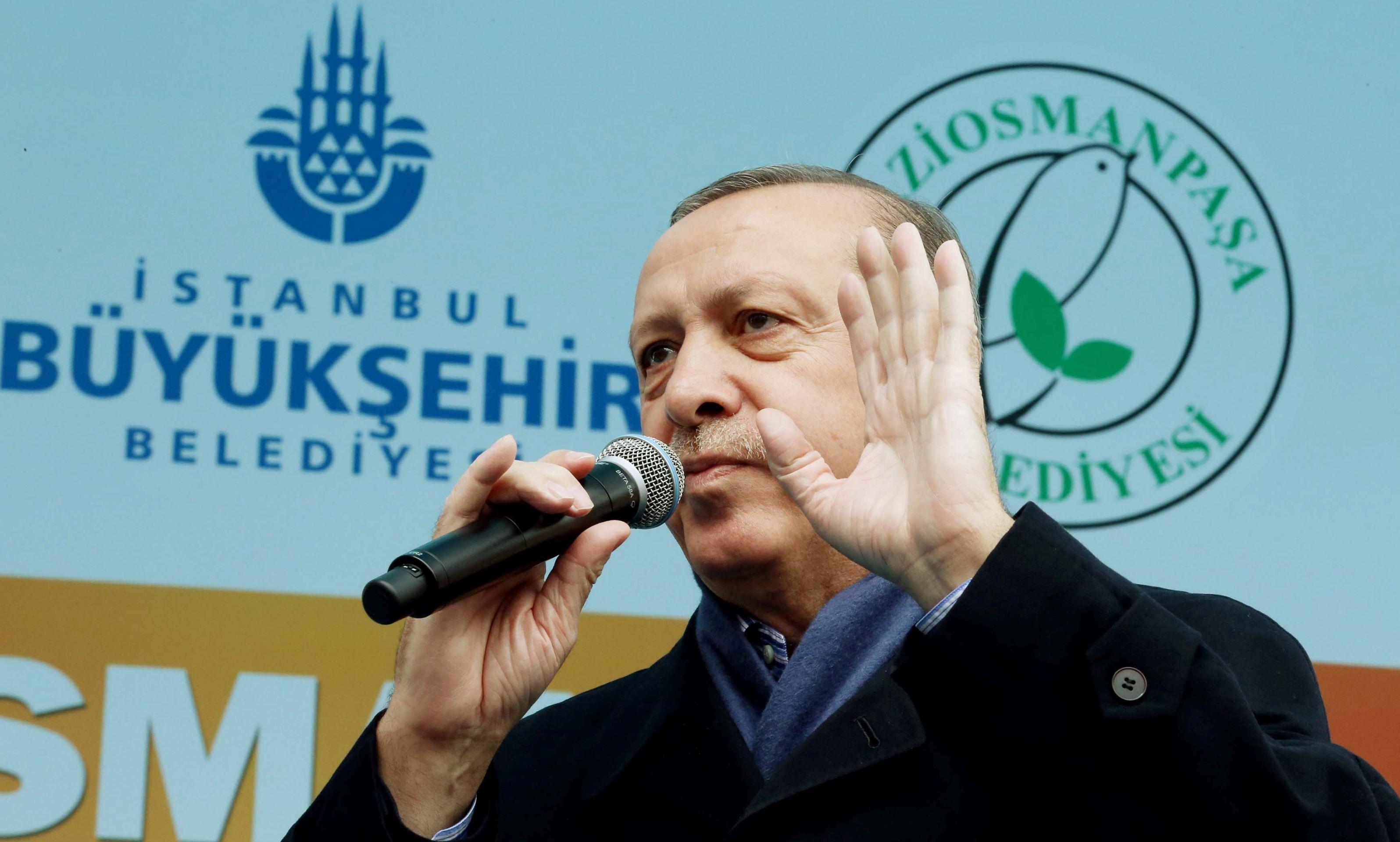 Erdogan kaže da se Turci u Europi trebaju suprotstaviti 'unucima nacizma'