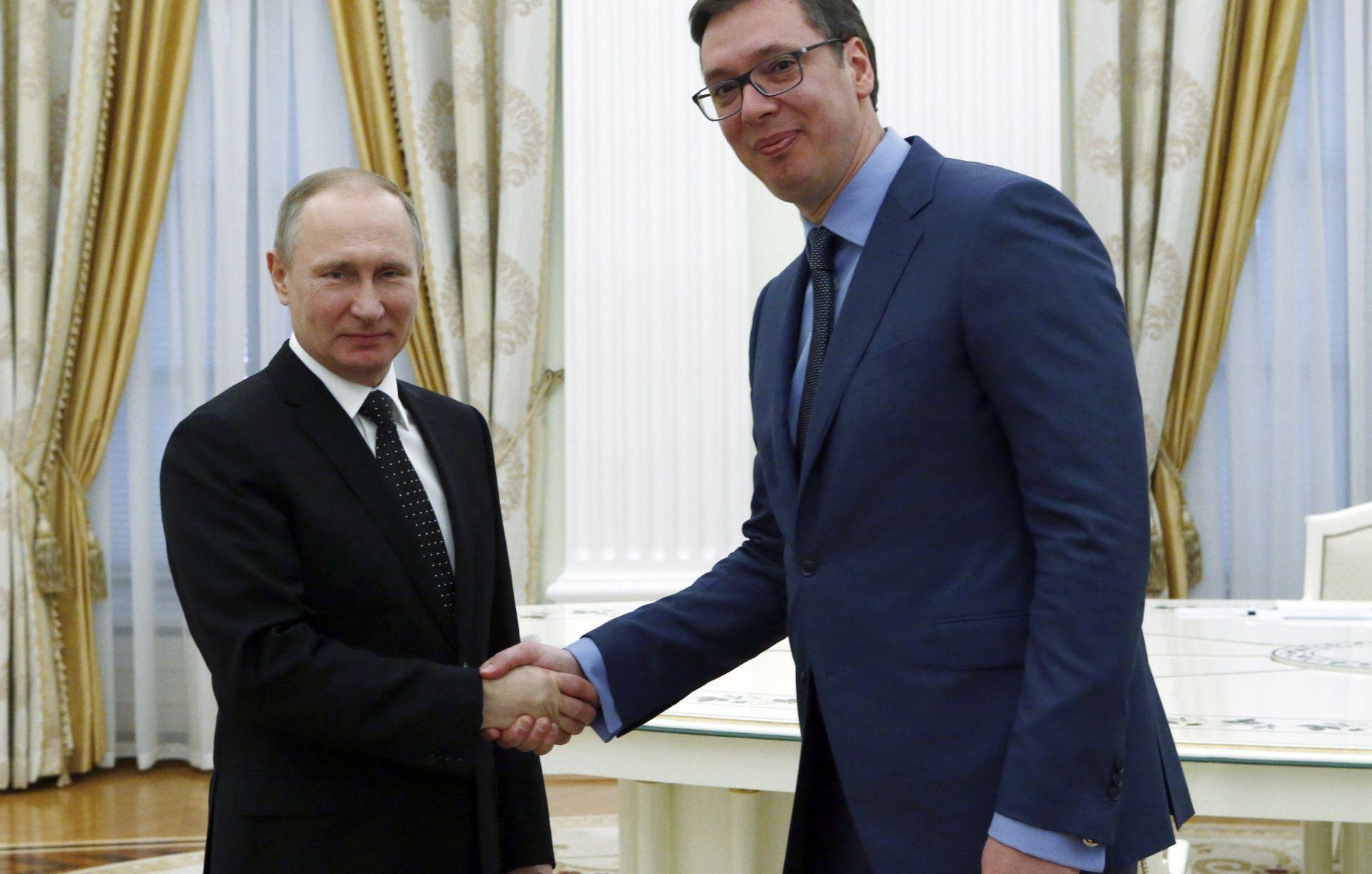 Putin prihvatio Vučićev poziv da posjeti Srbiju
