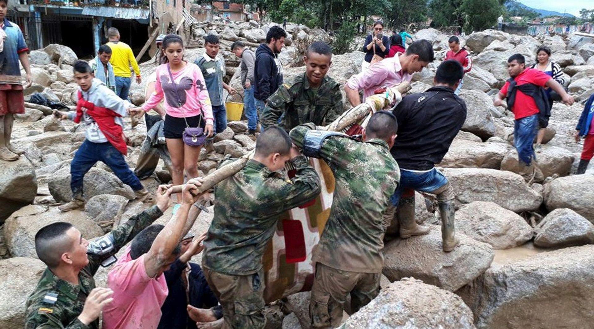 VIDEO: BROJ ŽRTAVA RASTE U bujici blata u Kolumbiji više od 150 mrtvih, 400 ozlijeđenih