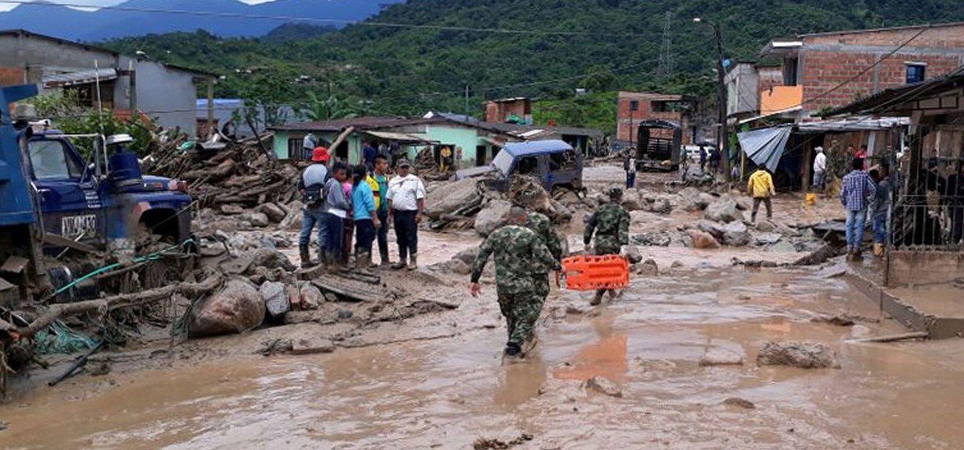 U bujici blata u Kolumbiji poginulo 112 ljudi, preko 100 ozlijeđenih