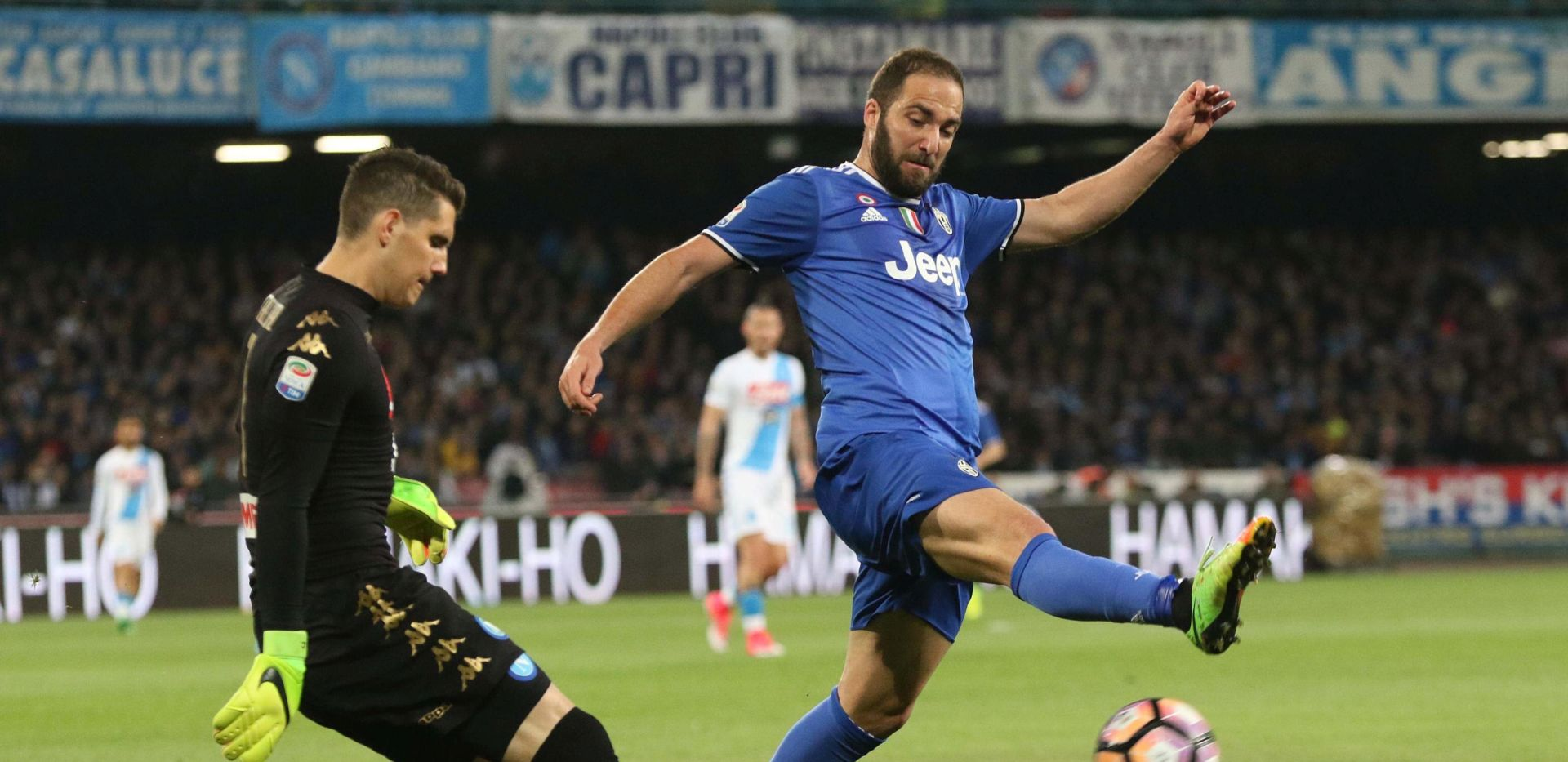 VIDEO Veliki derbi u Italiji: Napoli – Juventus 0-1
