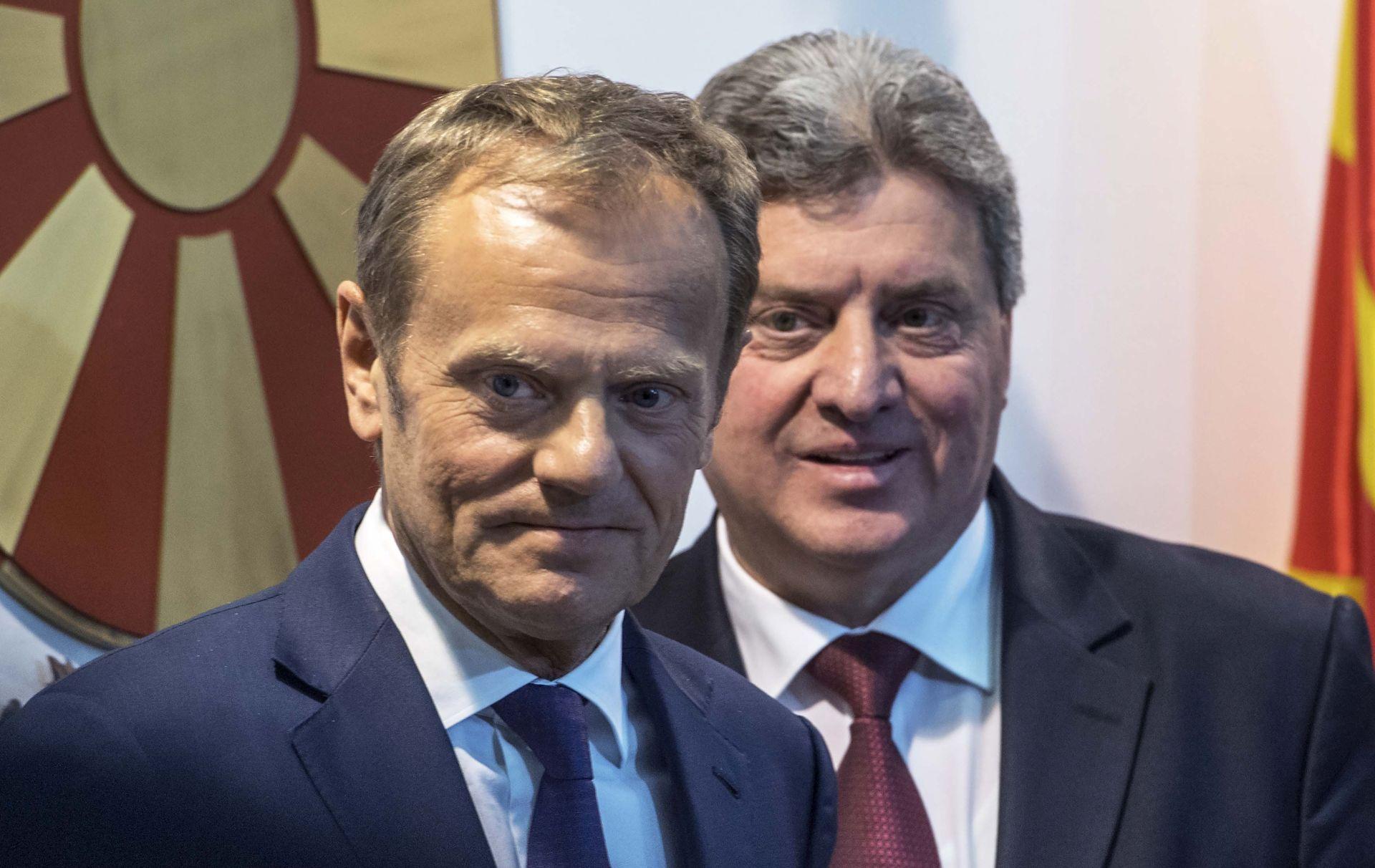 Tusk poziva Makedoniju da pronađe rješenje