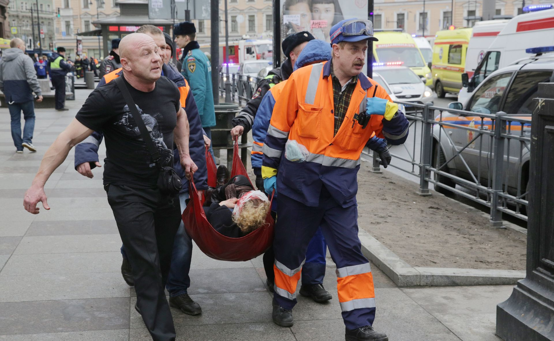 RUSIJA U napadu bombaša samoubojice poginulo 11 ljudi, ozlijeđeno 45