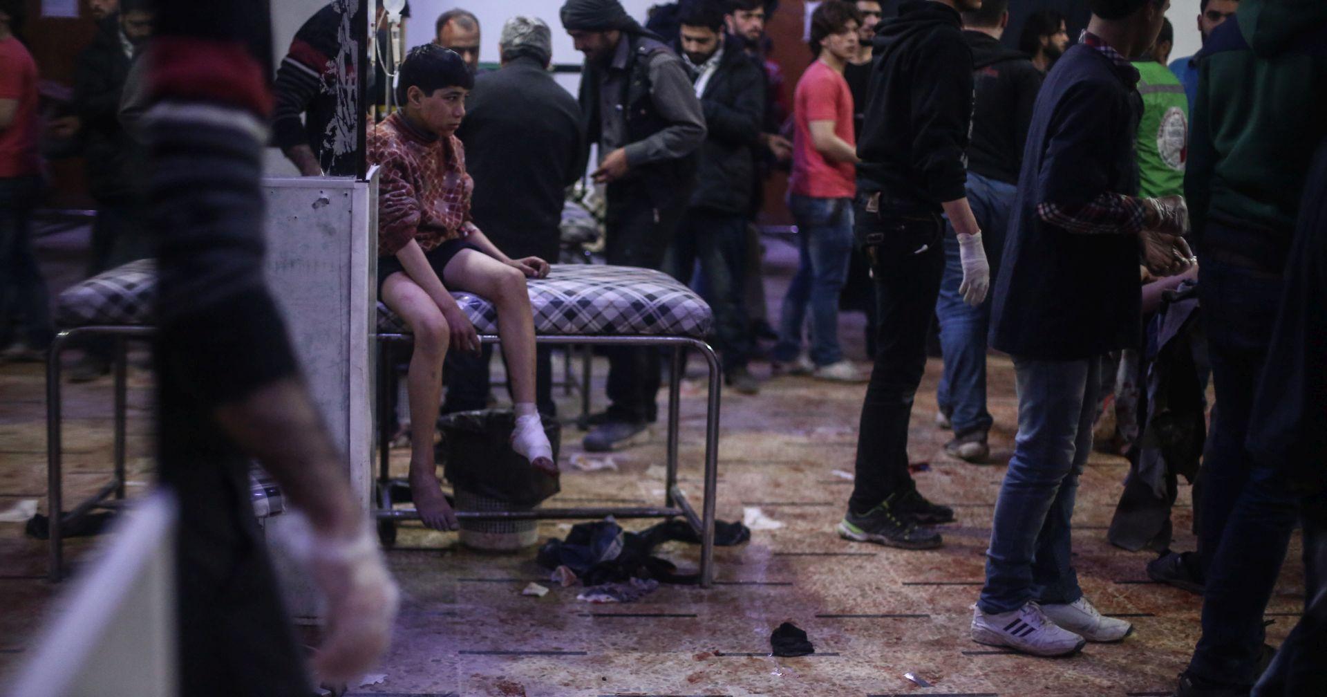 KEMIJSKI NAPAD U SIRIJI 72 žrtve, nacrt rezolucije pred VS-om