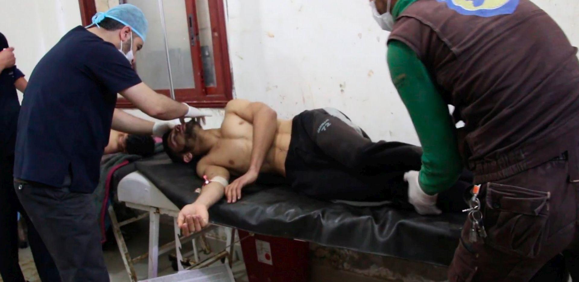 """Asad tvrdi da je kemijski napad u Idlibu """"izmišljotina"""""""