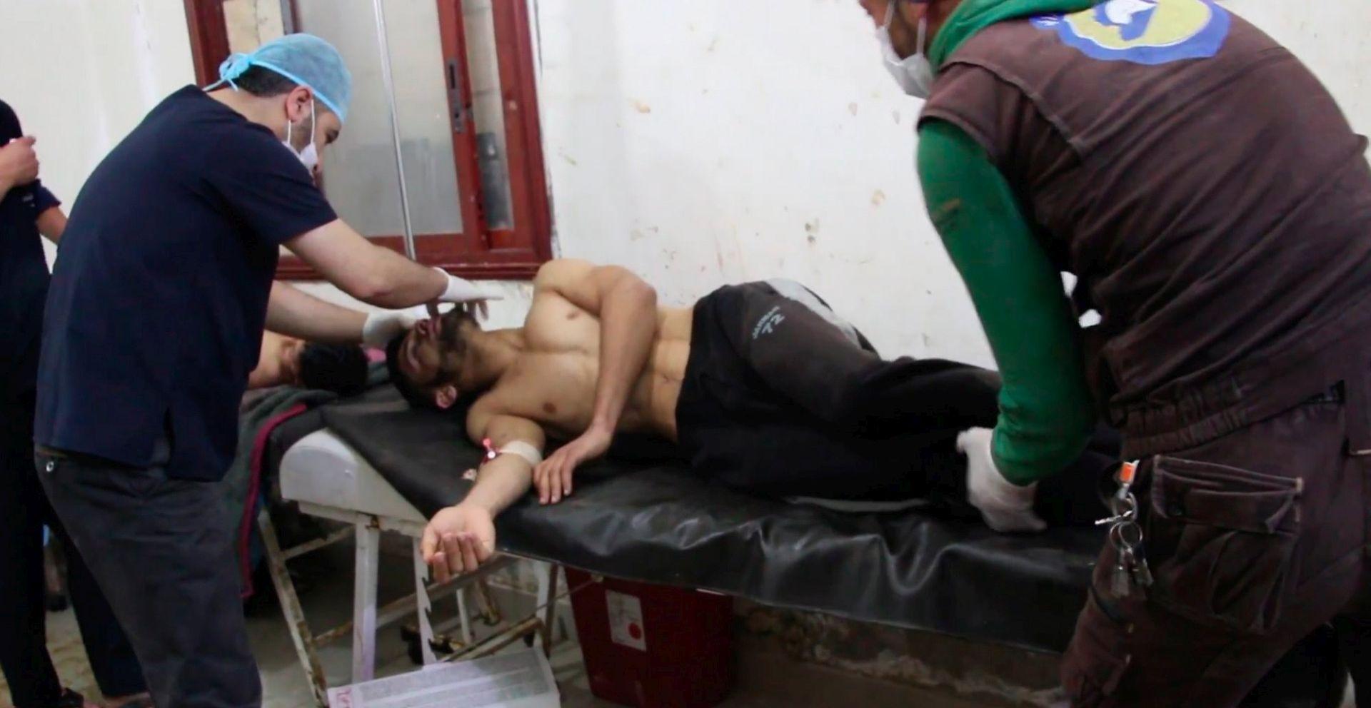 Stručnjaci u Turskoj istražuju navodni napad sarinom u Siriji