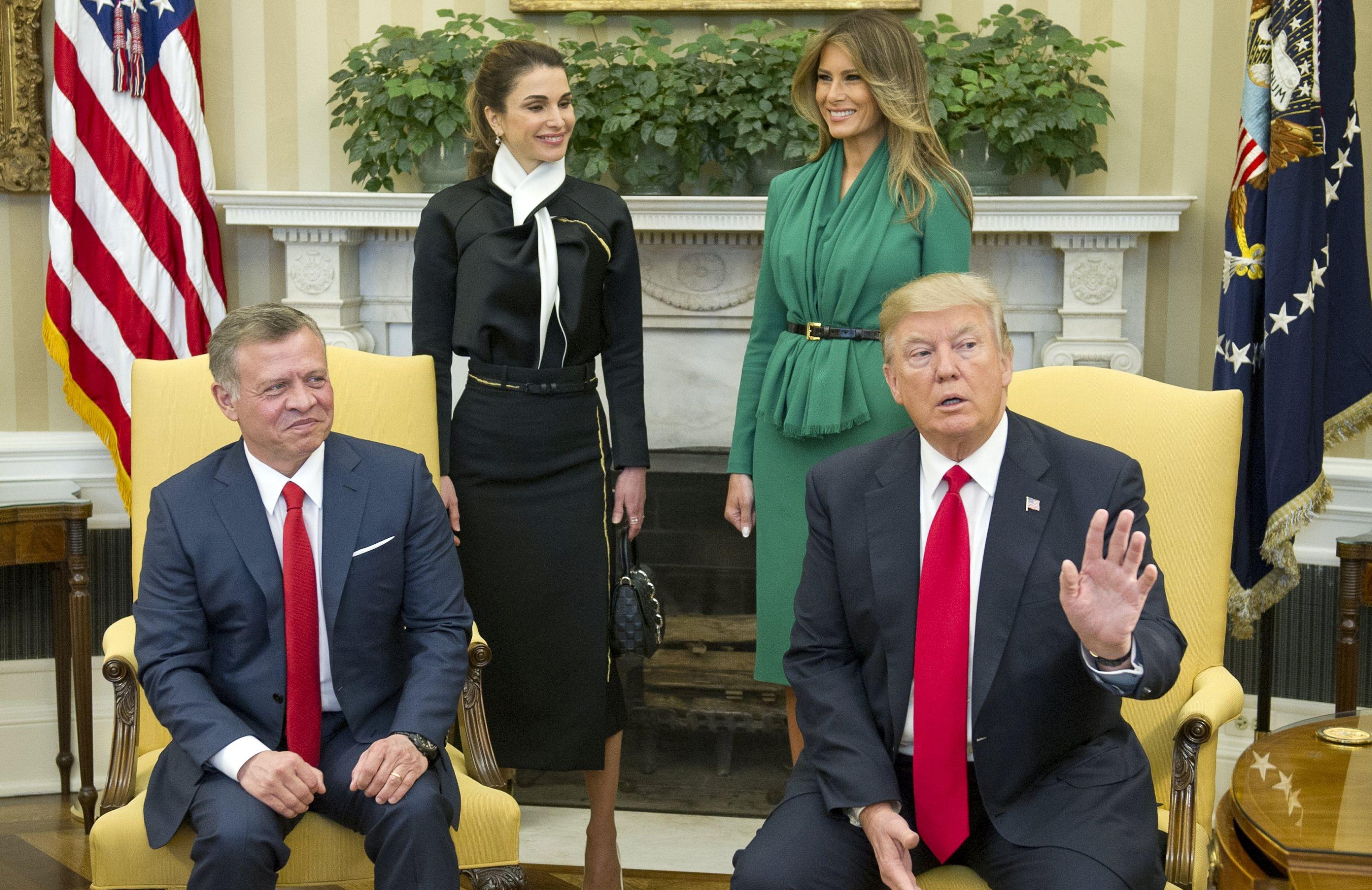 Jordanski kralj Abdullah pozdravlja Trumpovu hrabrost u postizanju izraelsko-palestinskog rješenja
