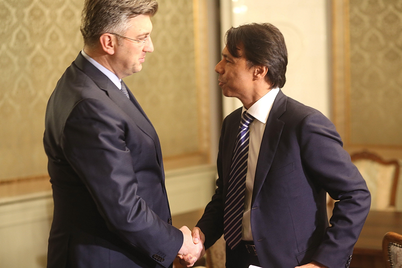 U Banskim dvorima sastanak Plenkovića i Alvareza III.