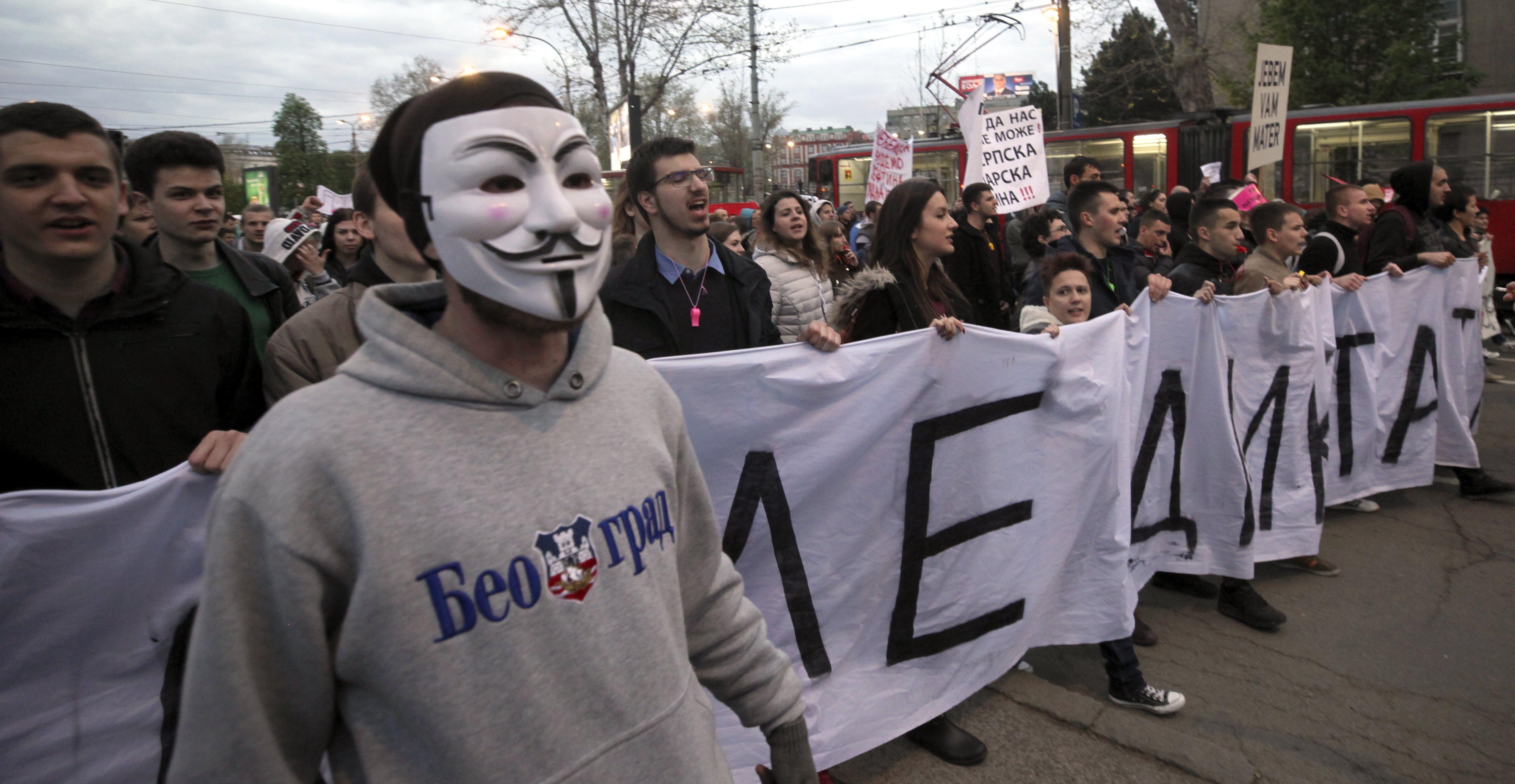 Nastavljeni studentski prosvjedi u većim gradovima Srbije
