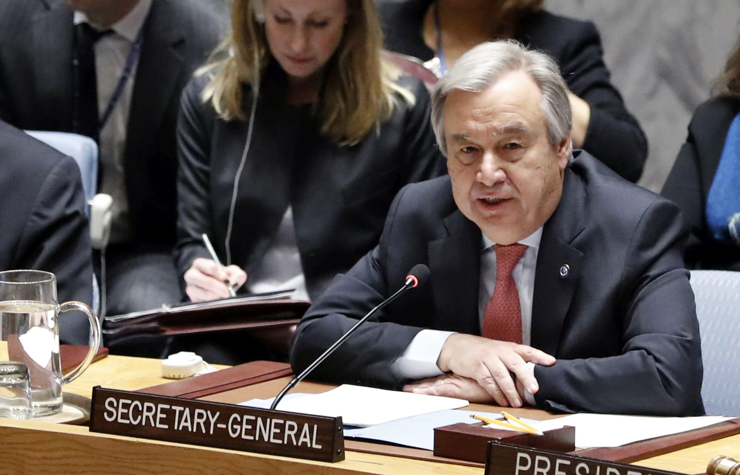 """Glavni tajnik UN-a upozorava na """"sve kaotičniji"""" svjetski poredak"""