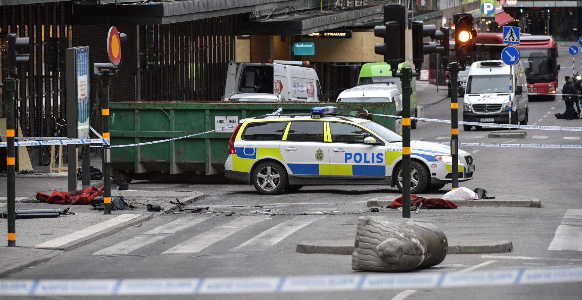 NAPAD U STOCKHOLMU Uhićeni muškarac osumnjičen da je vozio kamion