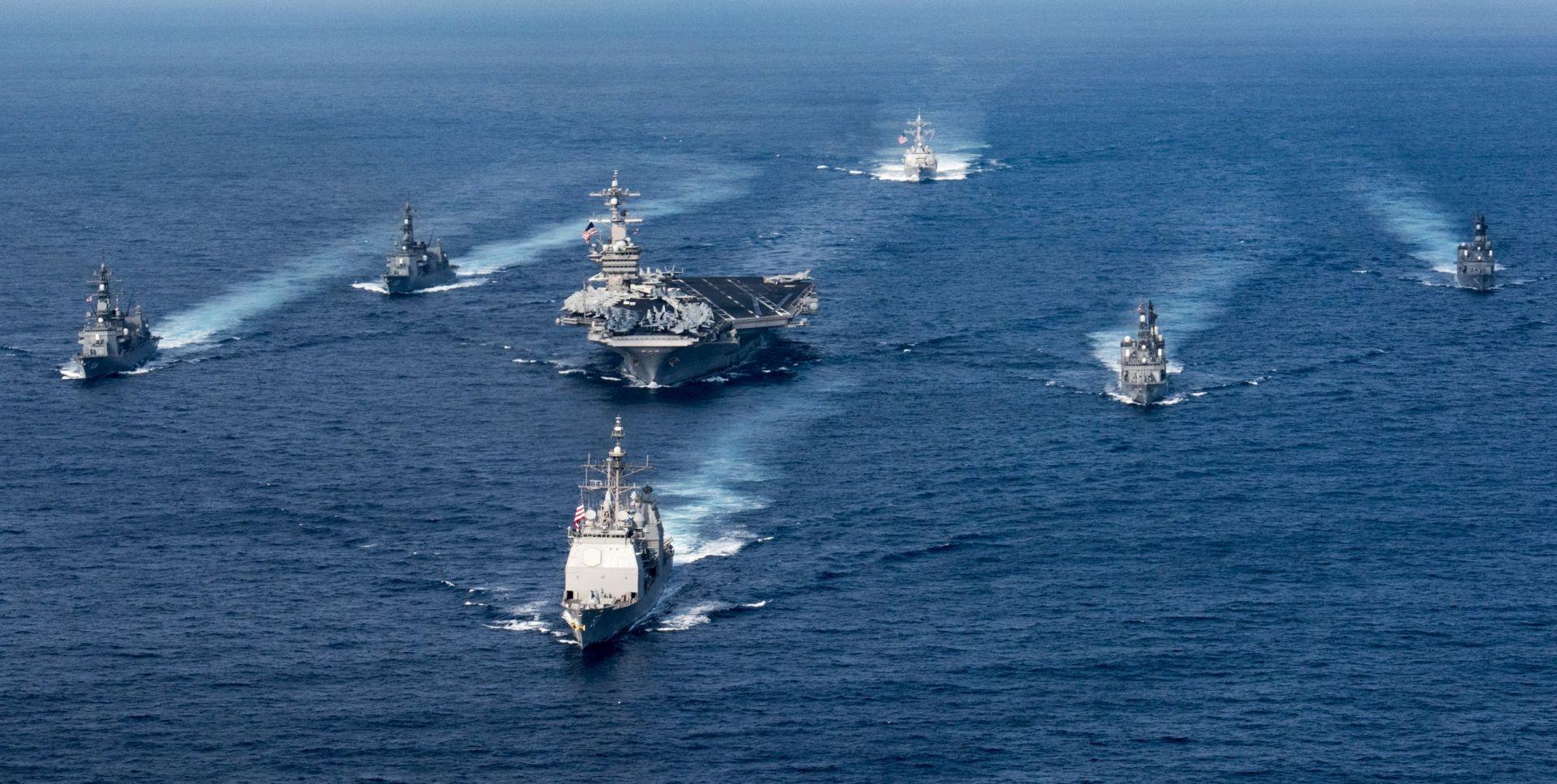 Trumpova 'prijeteća' flota – čitavo se vrijeme udaljava od Sjeverne Koreje