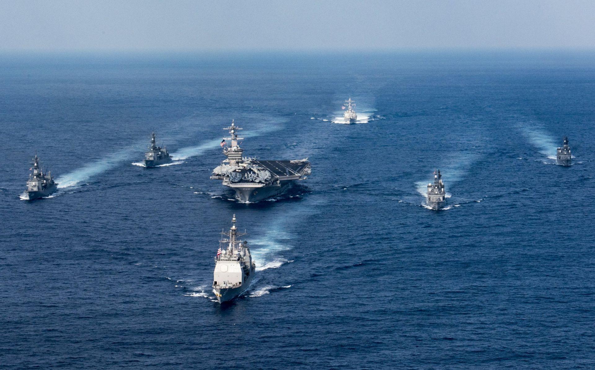 Sjeverna Koreja objavila da je spremna potopiti američki nosač zrakoplova