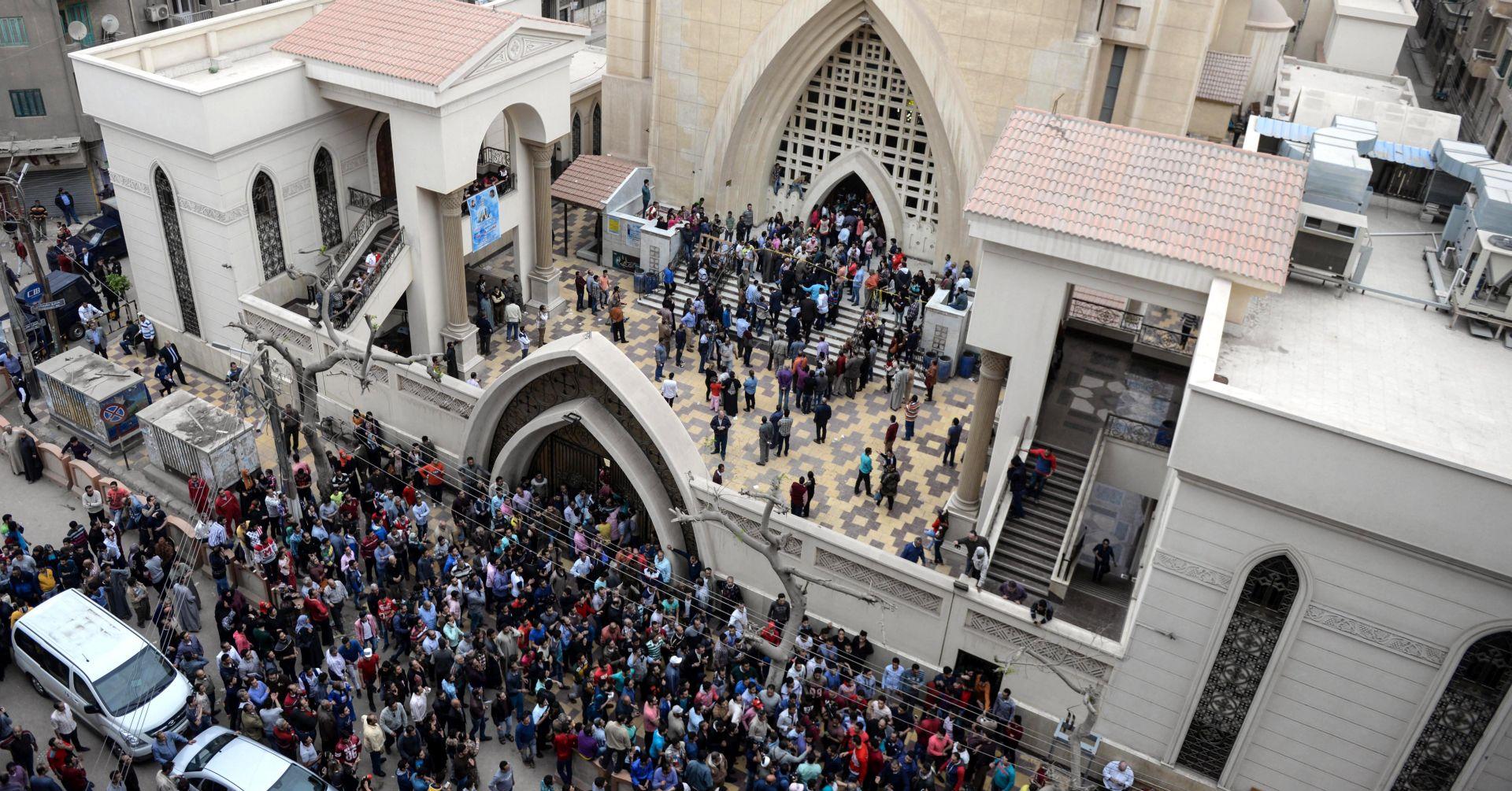 Spriječen samoubilački napad na koptsku crkvu u Egiptu