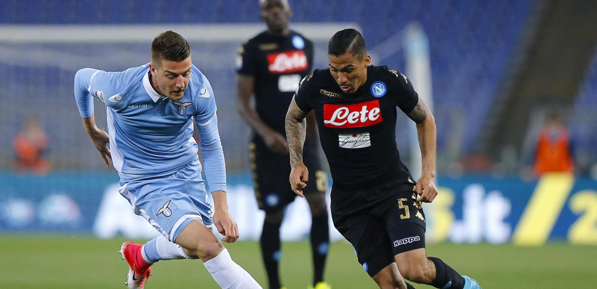 SERIE A Napoli svladao Lazio, nastupili Strinić i Rog