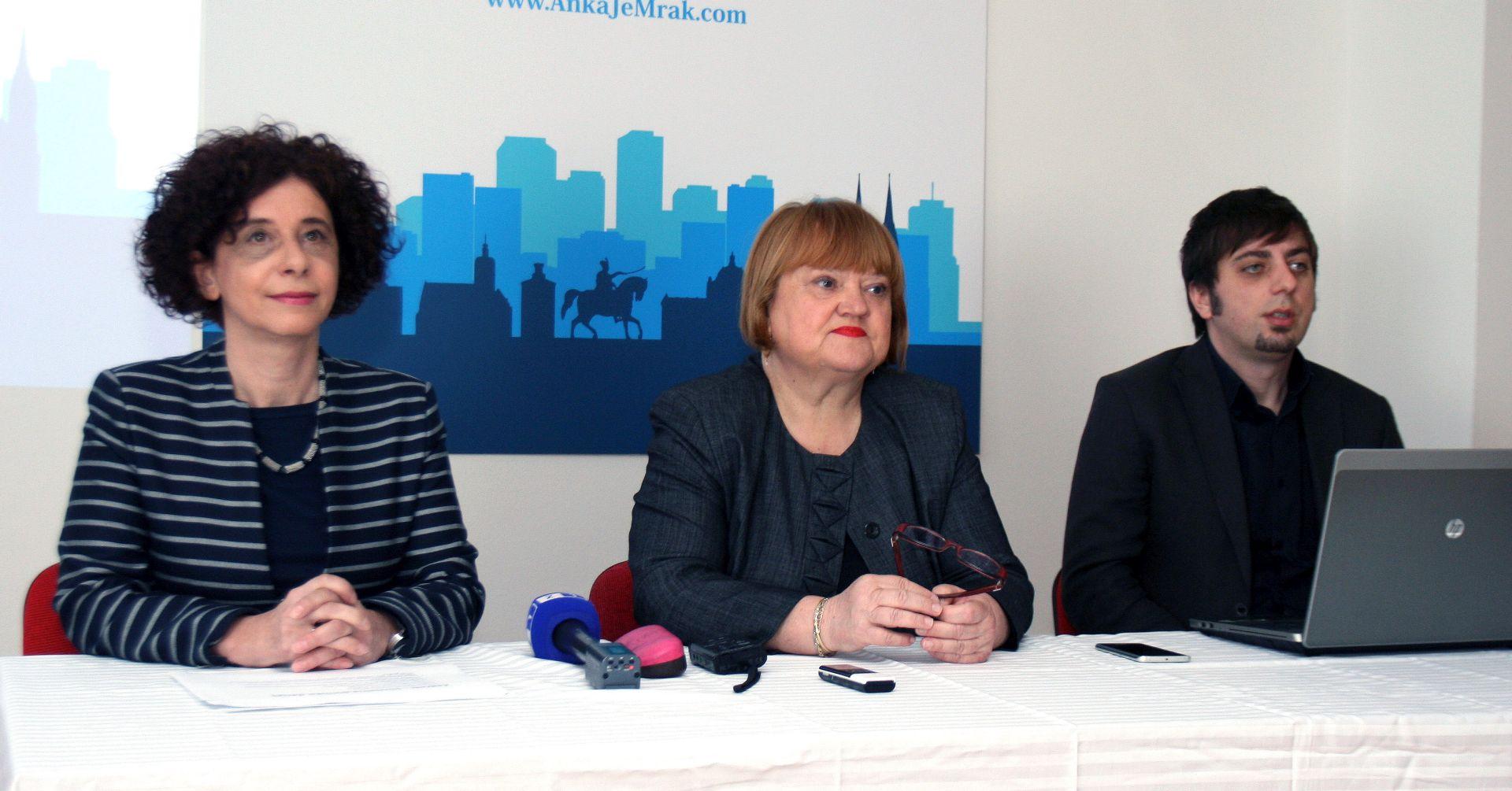 """Anka Mrak Taritaš predstavila socijalnu politiku """"Zagreb za zajednicu"""""""