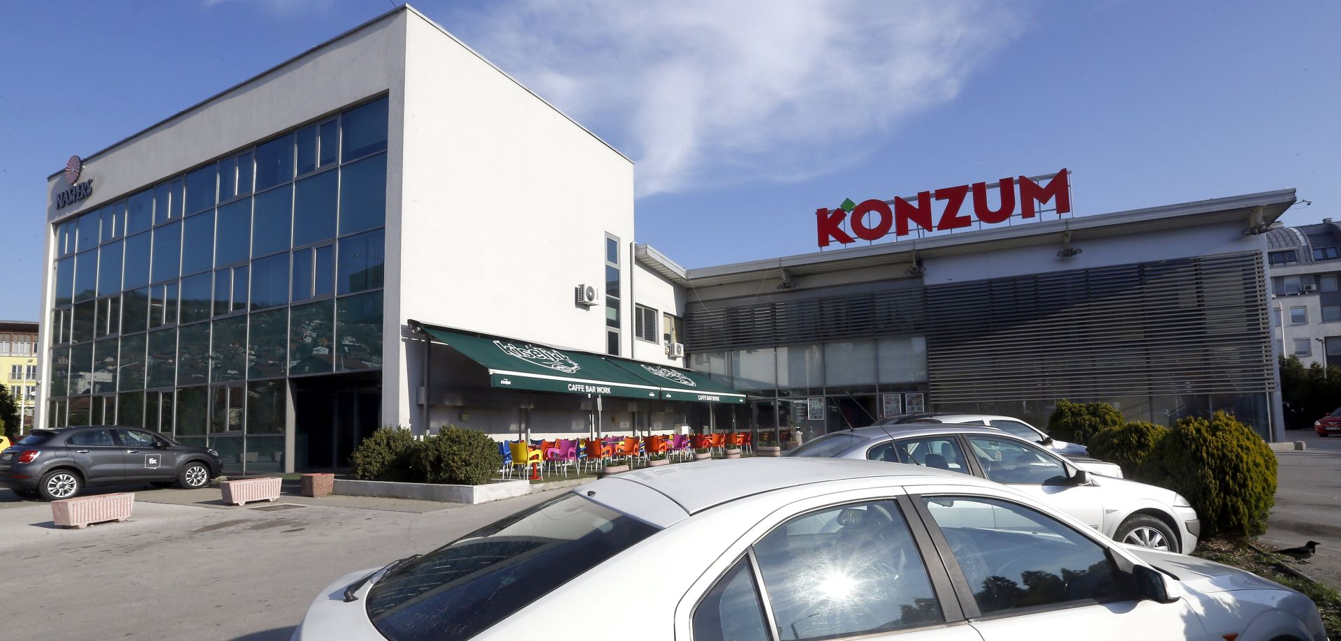 Opljačkan bankomat u Super Konzumu u Španskom