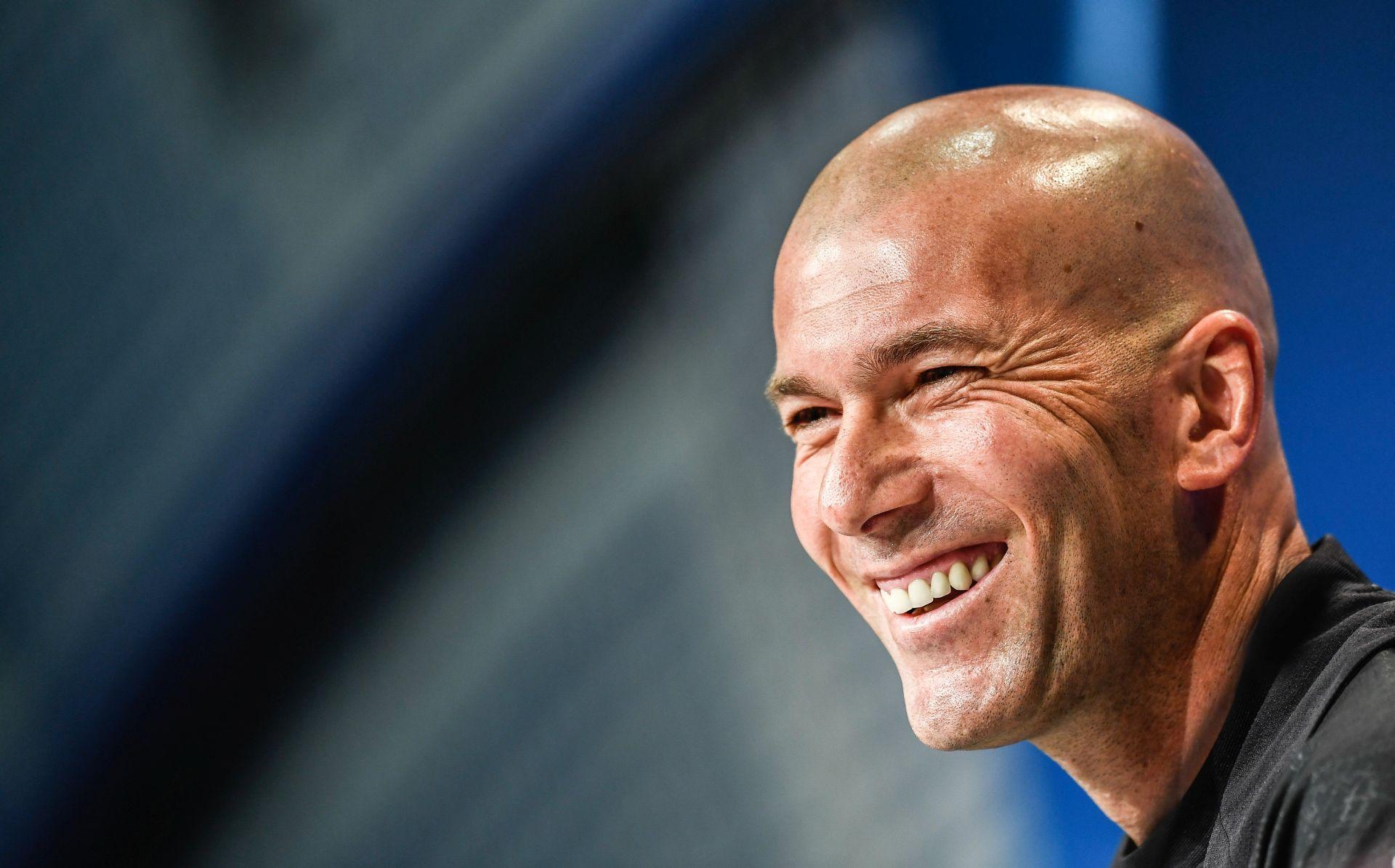 Zidane pohvalio atmosferu u svlačionici Reala