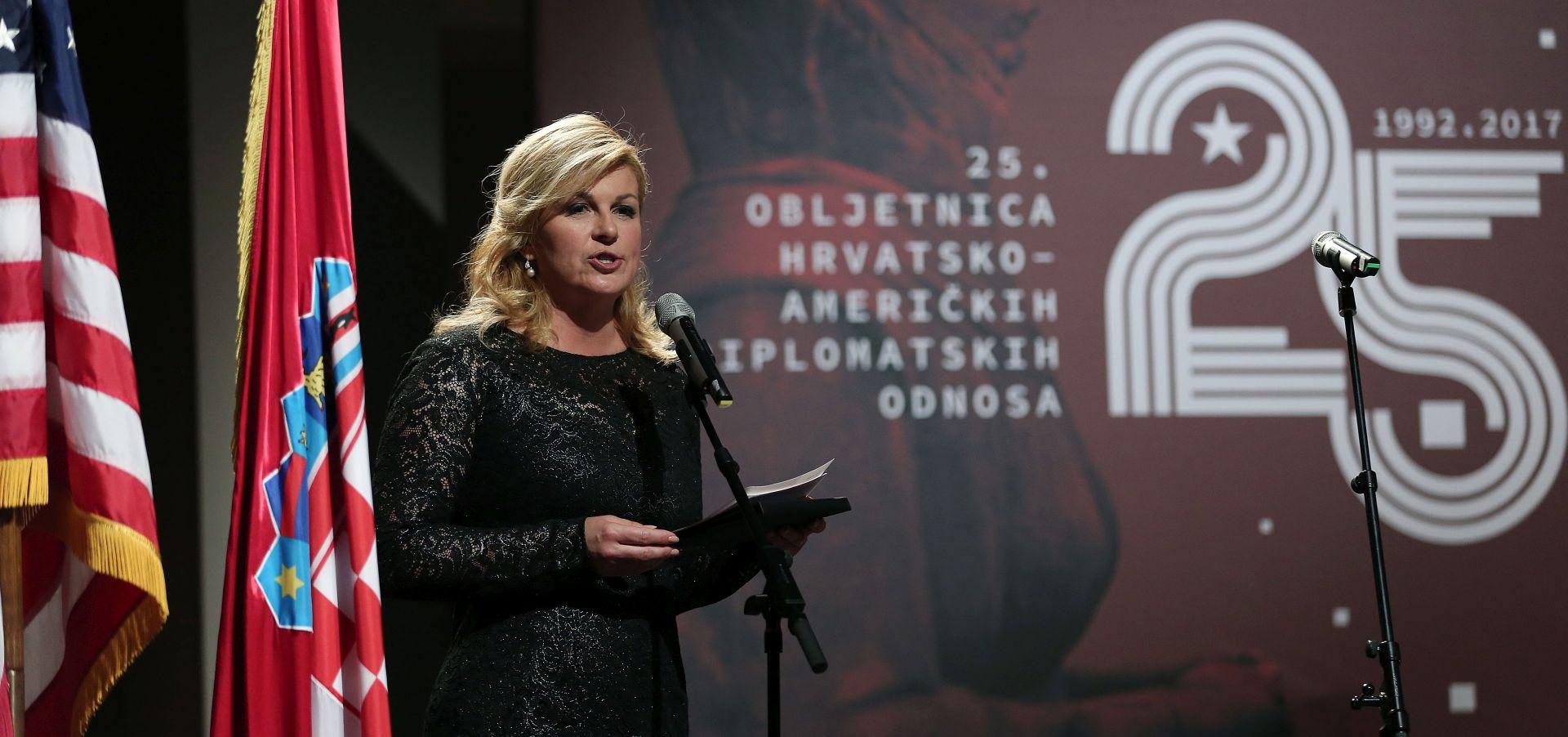 Svečano obilježena 25. obljetnica hrvatsko-američkih diplomatskih odnosa