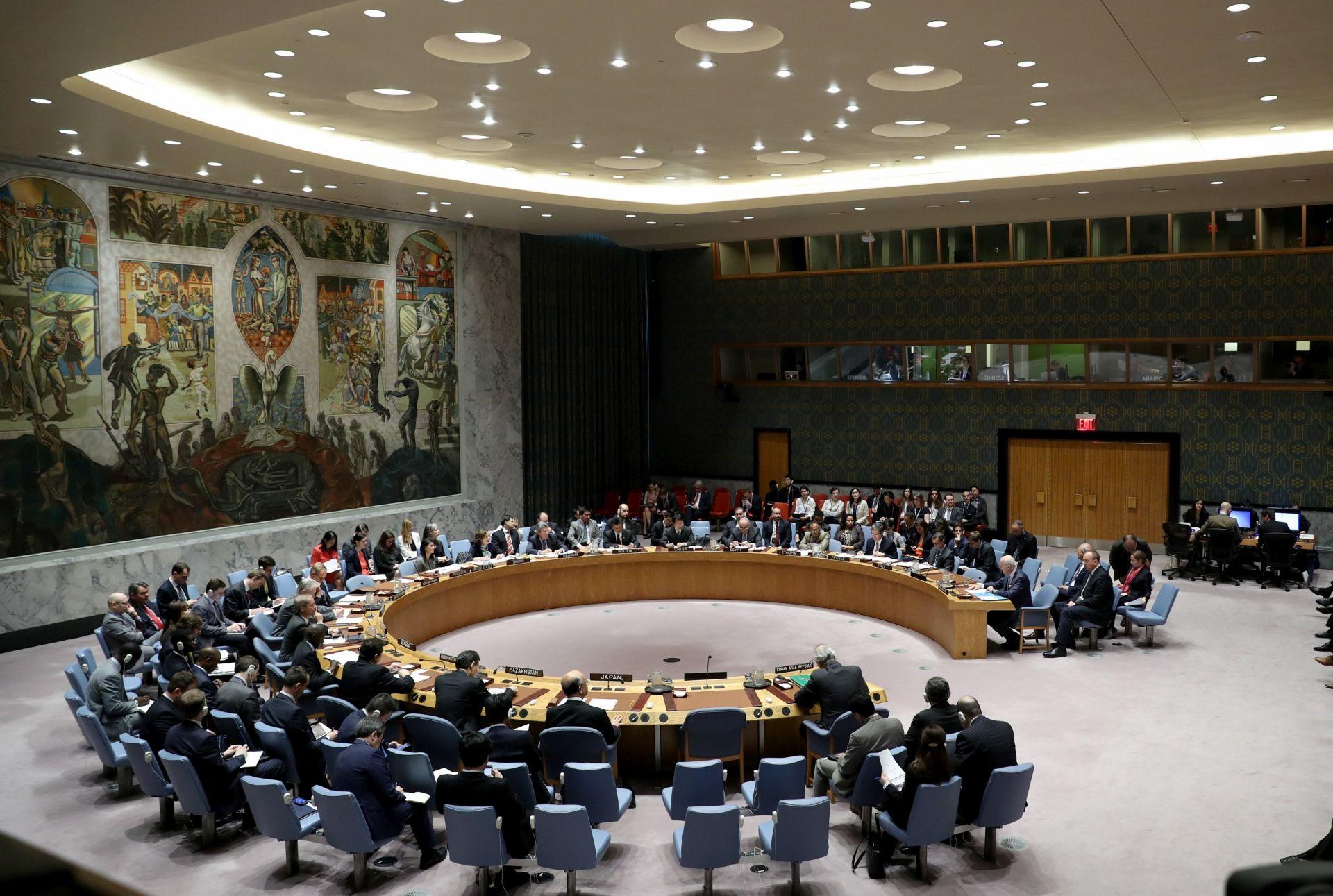 Rusija blokirala UN-ovu rezoluciju o Siriji