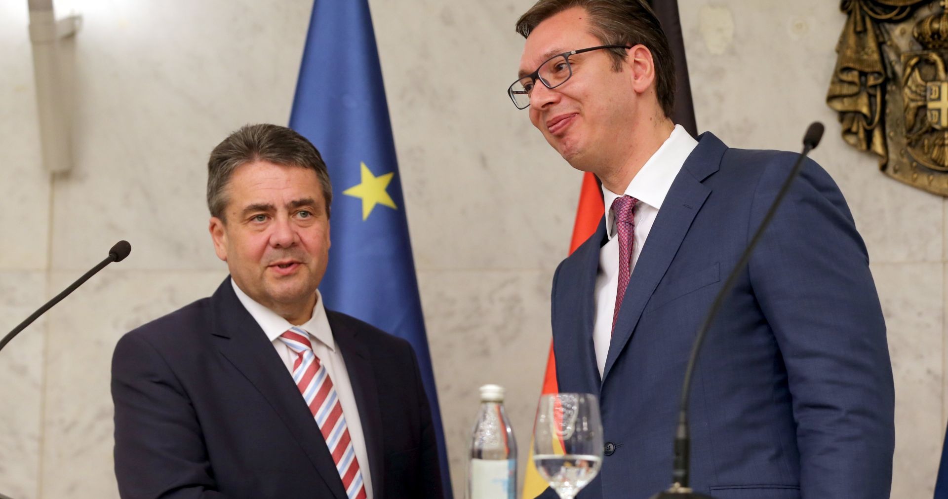GABRIEL 'Njemačka osjeća obvezu da bude partner Srbiji na putu ka EU-u'