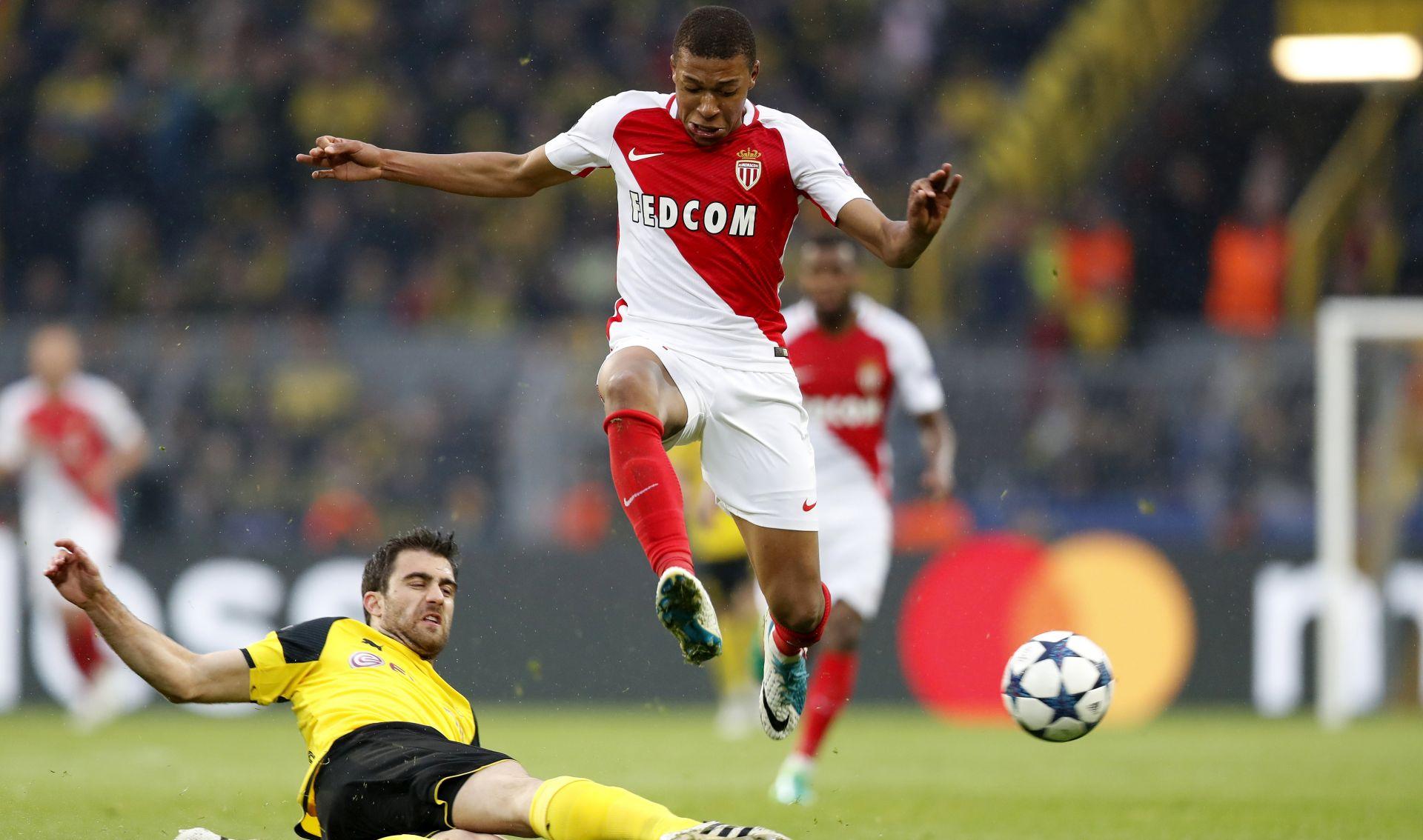 LIGA PRVAKA Monaco slavio u Dortmundu