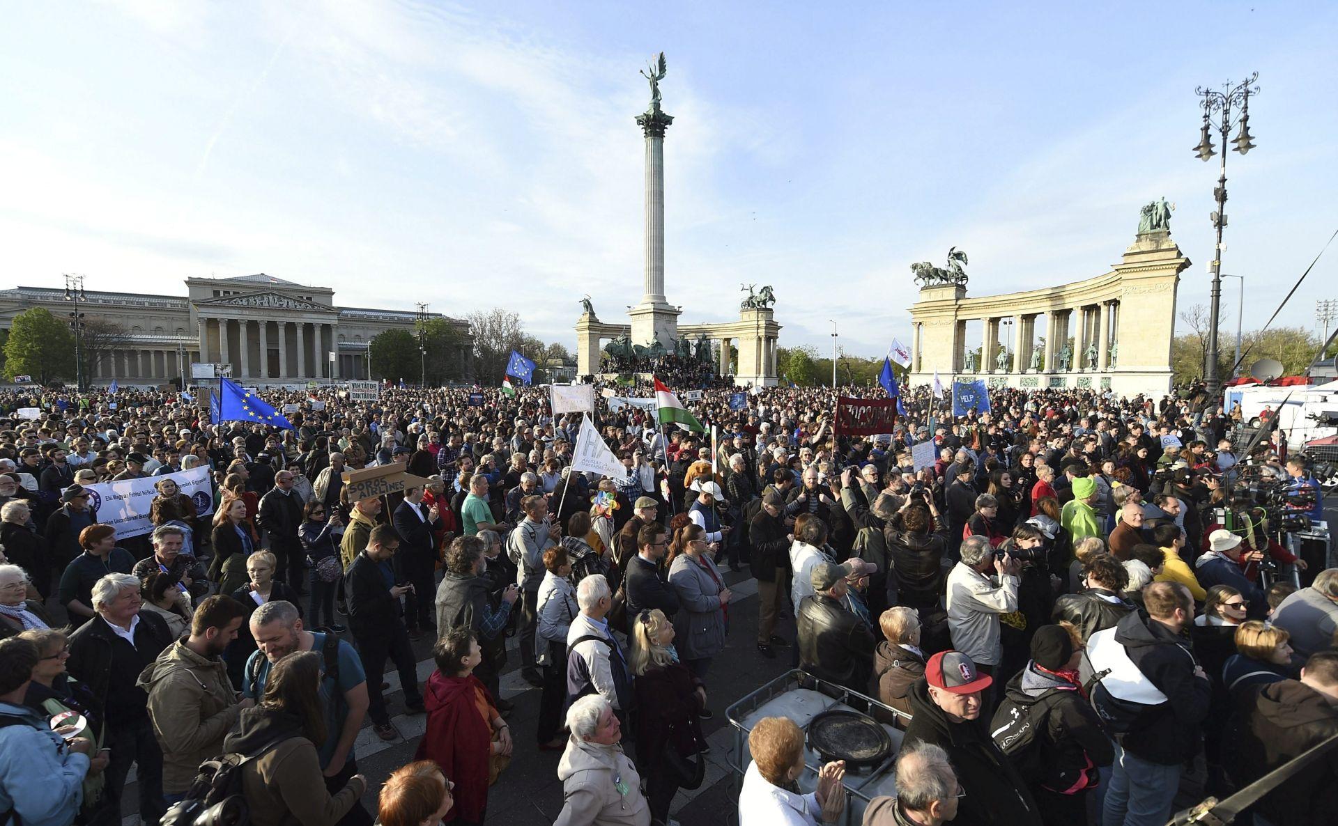 Novi prosvjedi u Budimpešti protiv Orbana
