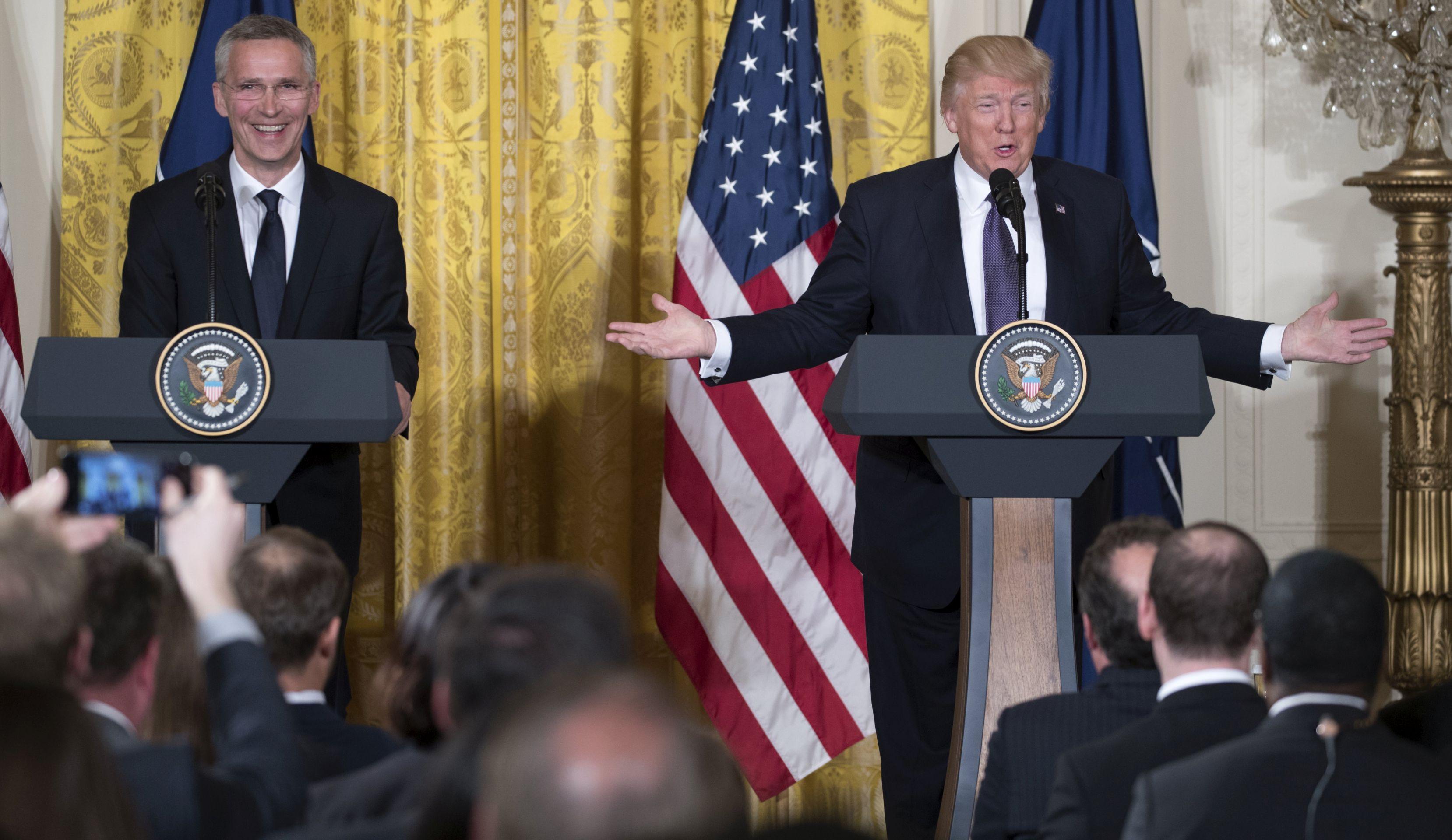 TRUMP 'NATO više nije zastario'