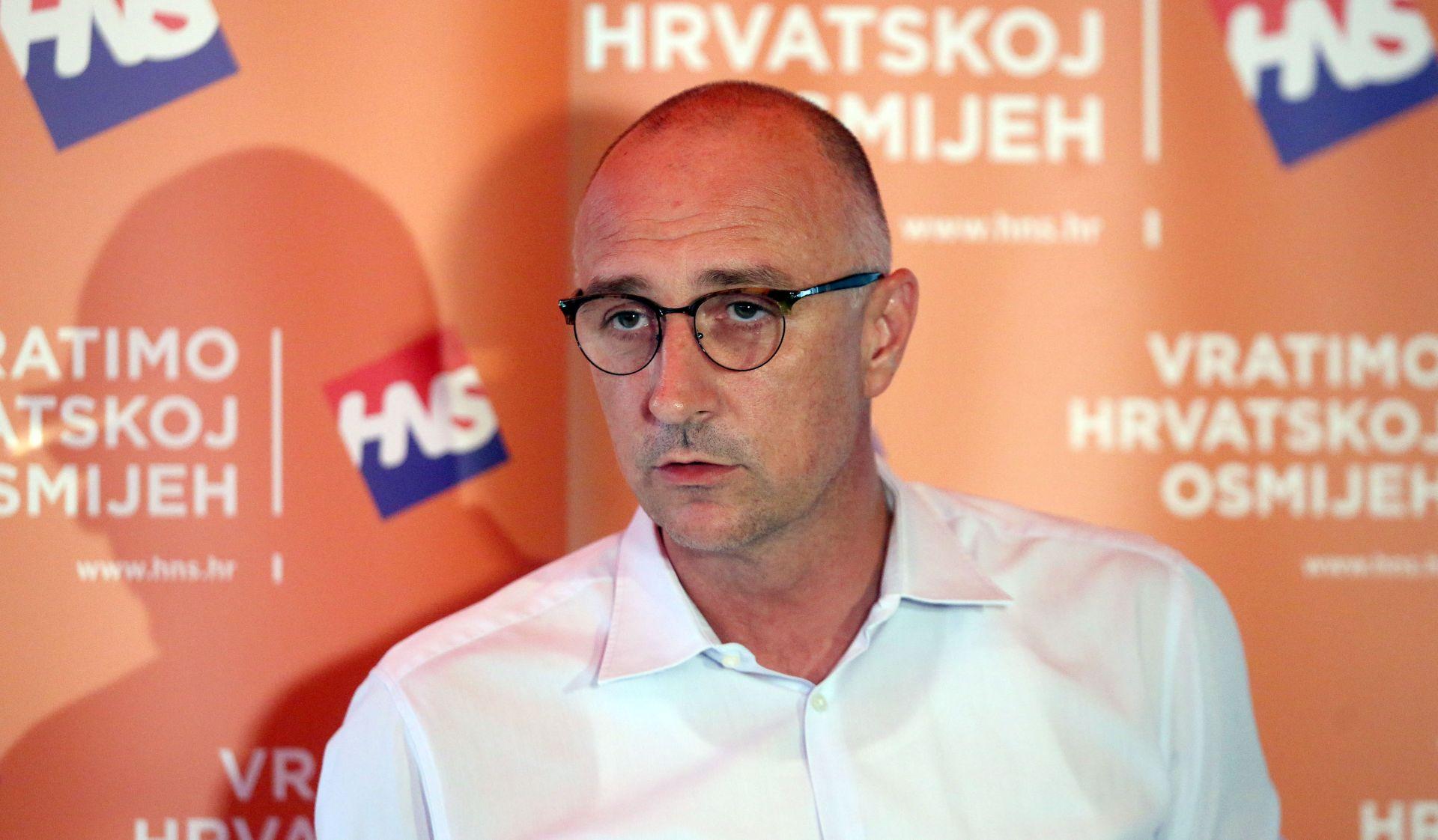 """Povratak Vrdoljaka na čelo HNS-a: """"Žao mi je što sam dao ostavku"""""""