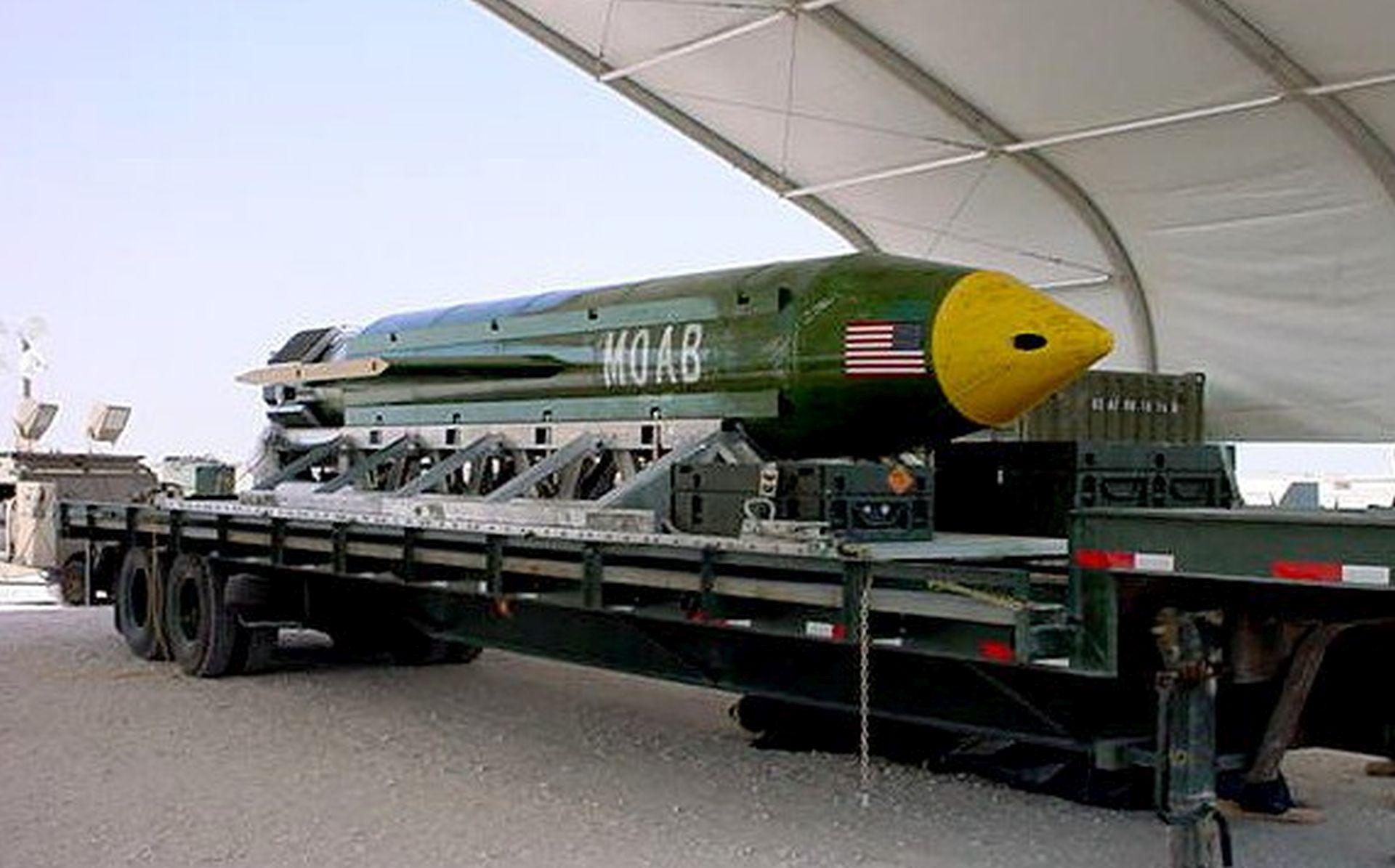 """SAD bacio """"majku svih bomba"""" na militante IS-a u Afganistanu"""