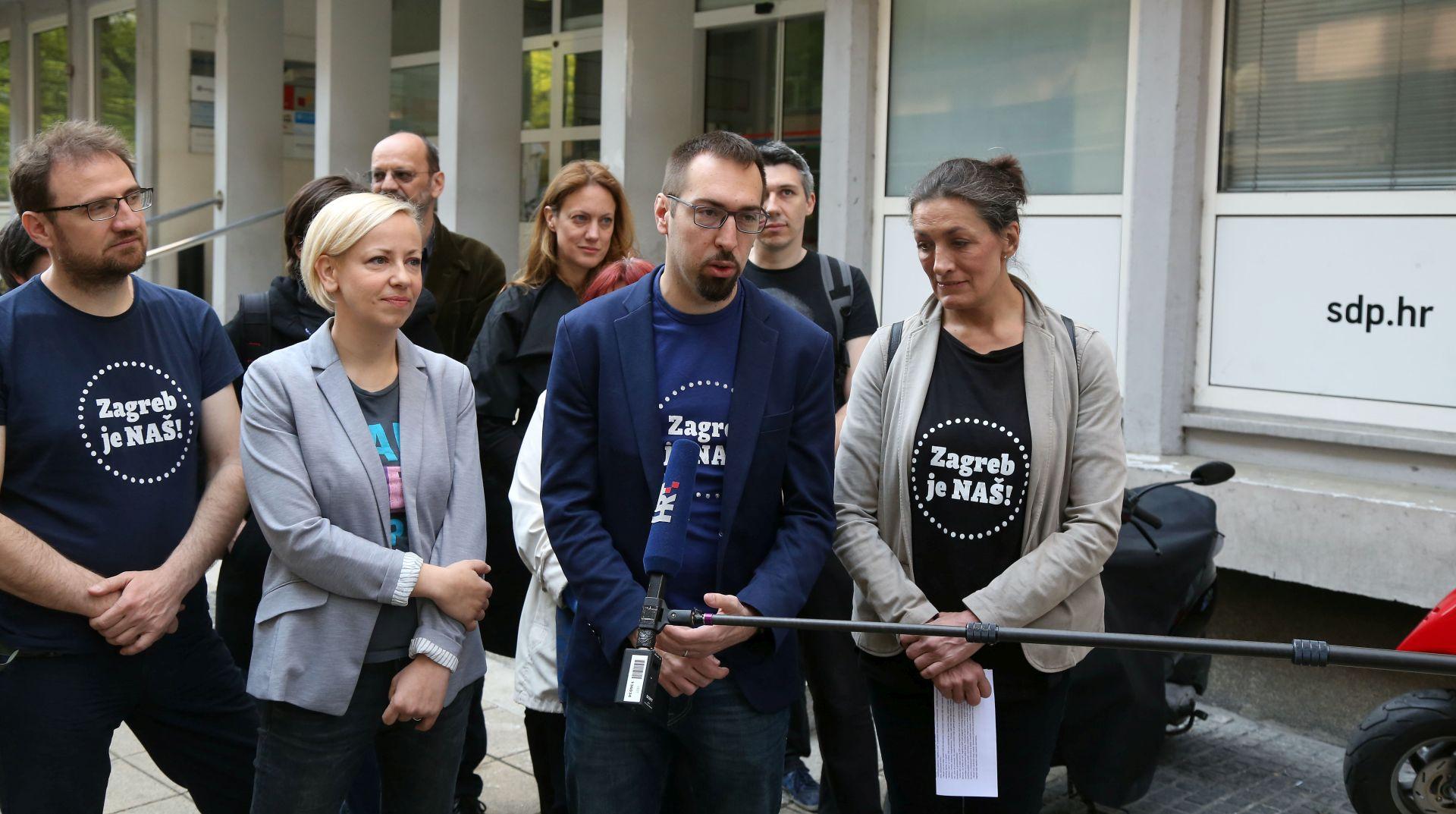 "Urša Raukar i Danijela Dolenec kandidatkinje platforme ""Zagreb je naš"" za dogradonačelnice"