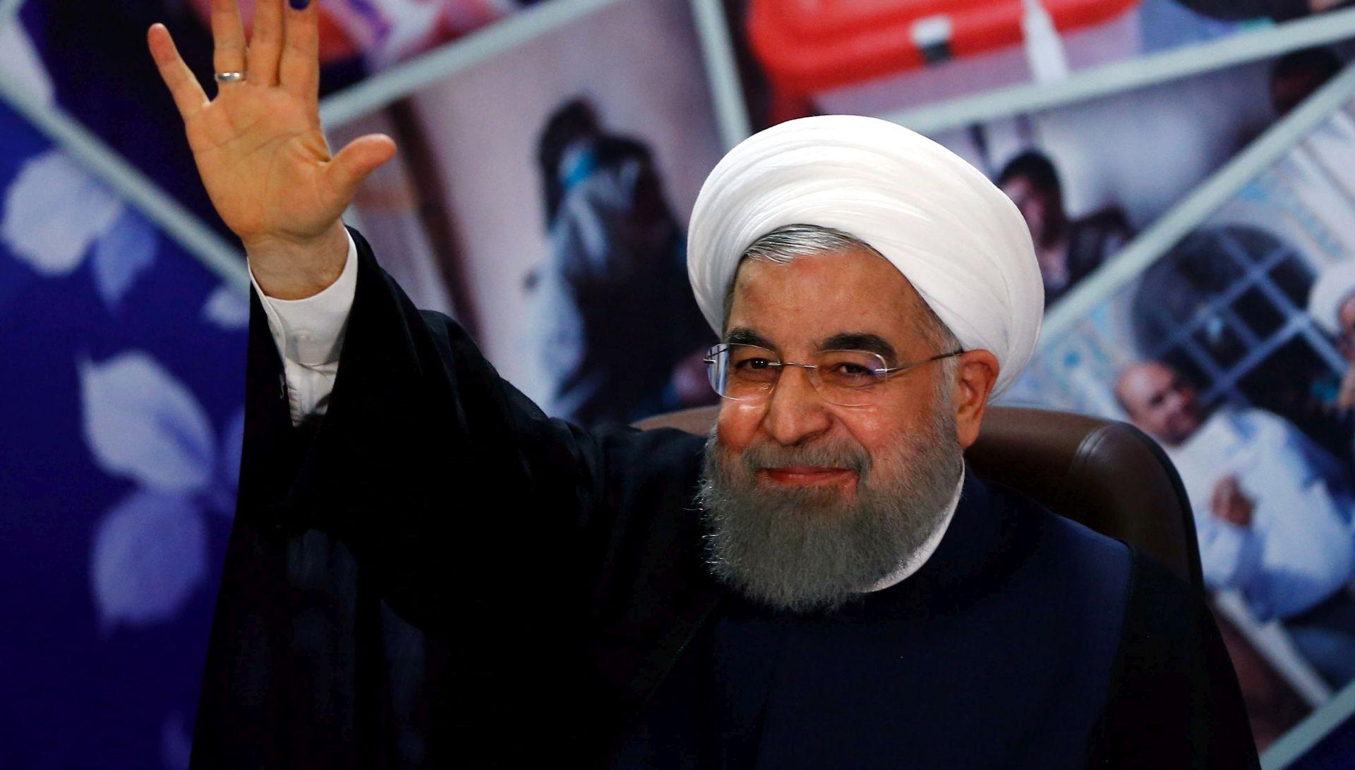 """Rouhani kaže da Iran ne treba """"ničije dopuštenje"""" za gradnju projektila"""