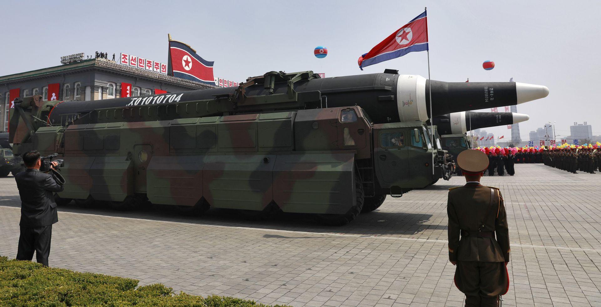 Vijeće sigurnosti UN-a nametnulo nove sankcije Sjevernoj Koreji zbog pokusnih ispaljivanja projektila