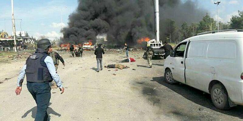 Najmanje 43 mrtvih u napadu na konvoj kod Alepa