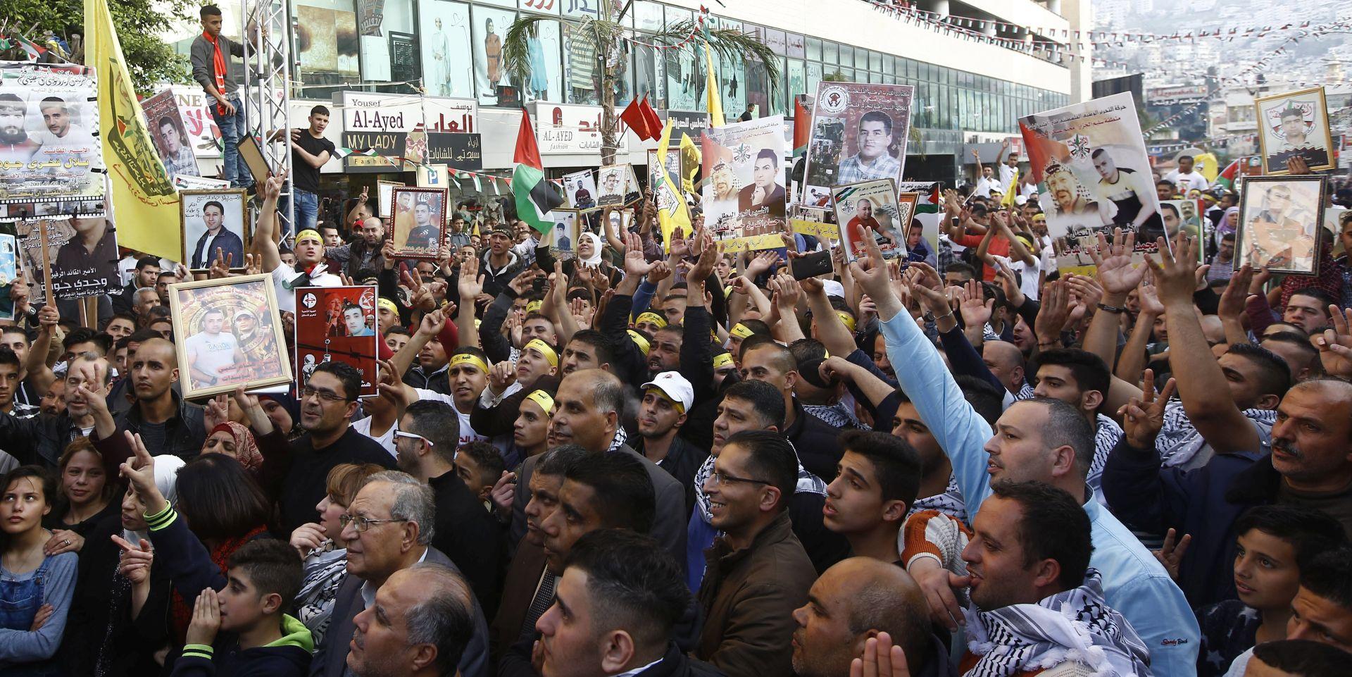 Više od tisuću zatvorenih Palestinaca štrajka glađu