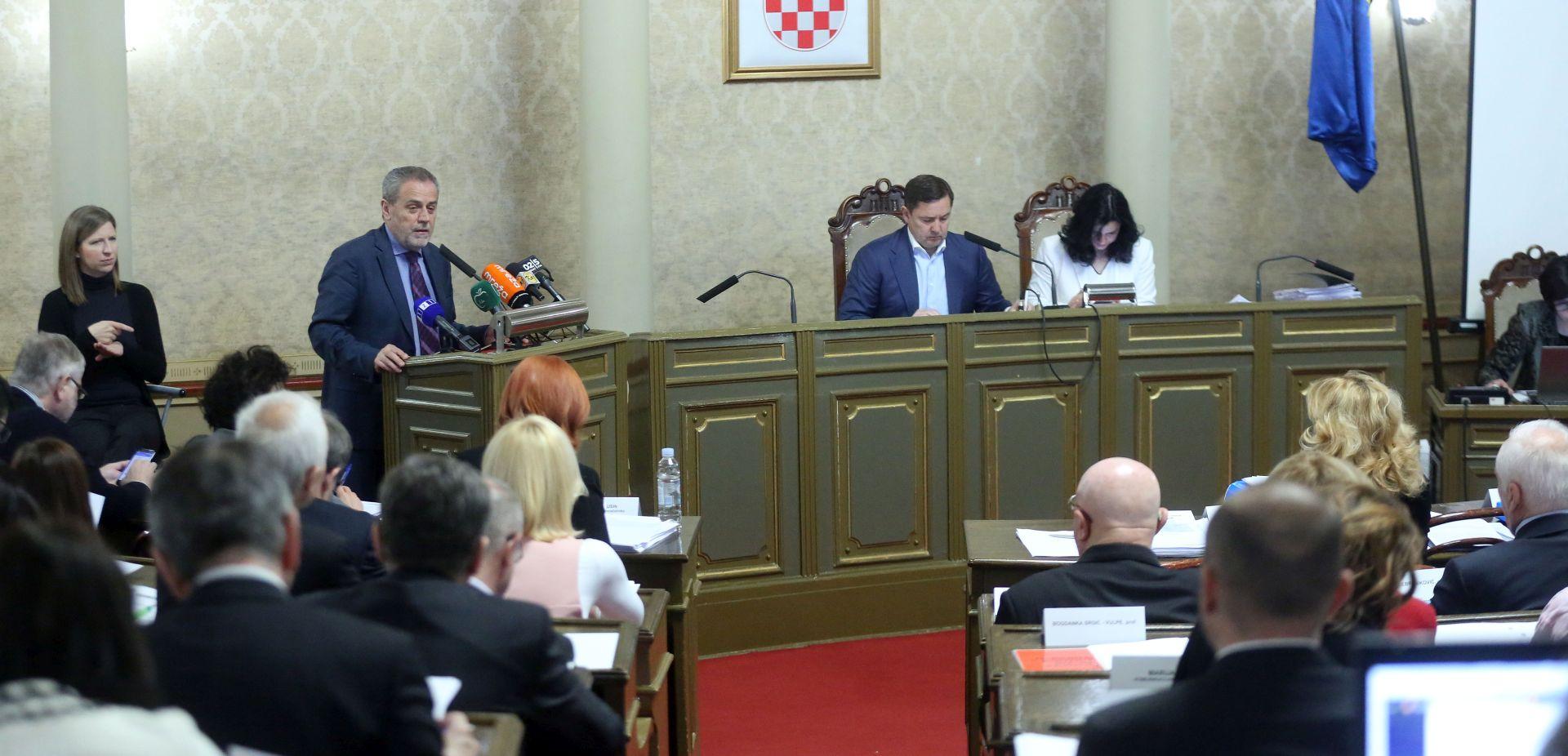Gradska Skupština izglasovala odluku o zaštiti objekata od grafita u Zagrebu
