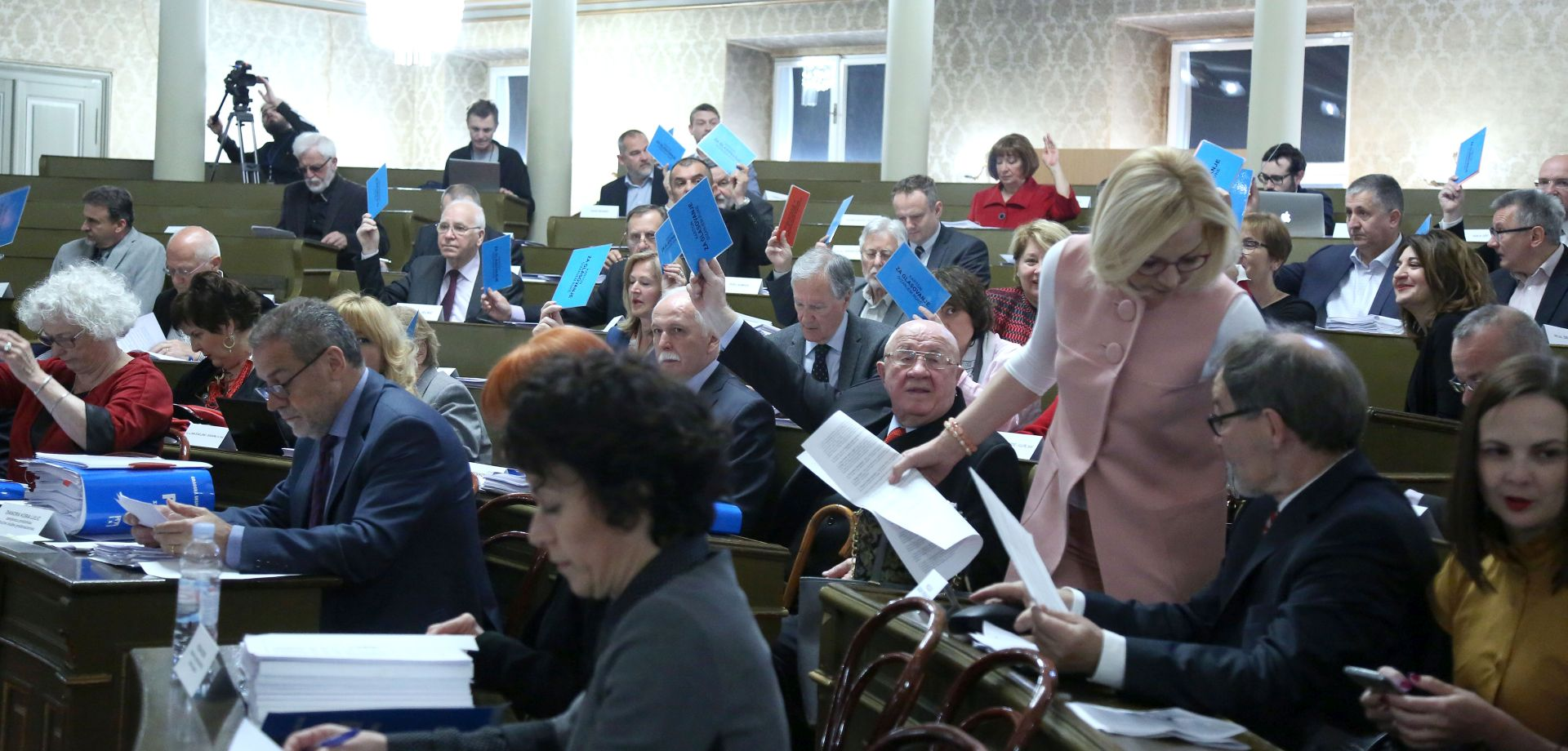 Aktualni sat zadnjeg zasjedanja zagrebačke Gradske skupštine