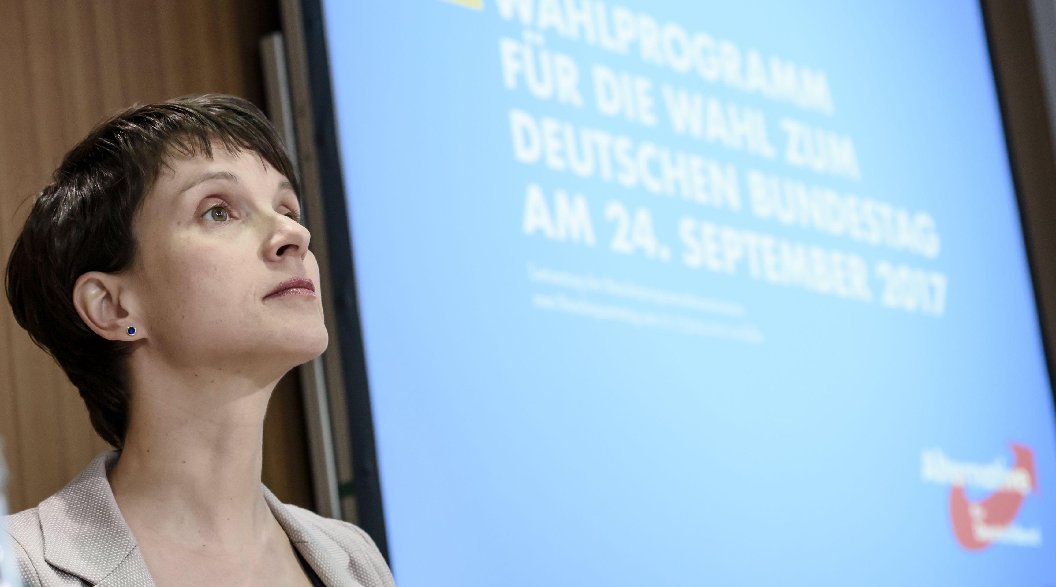 AfD-ova Frauke Petry odustala od kandidature na nadolazećim parlamentarnim izborima