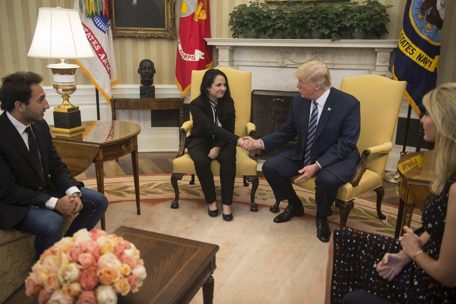 Trump primio egipatsko-američku aktivisticu puštenu iz zatvora nakon tri godine