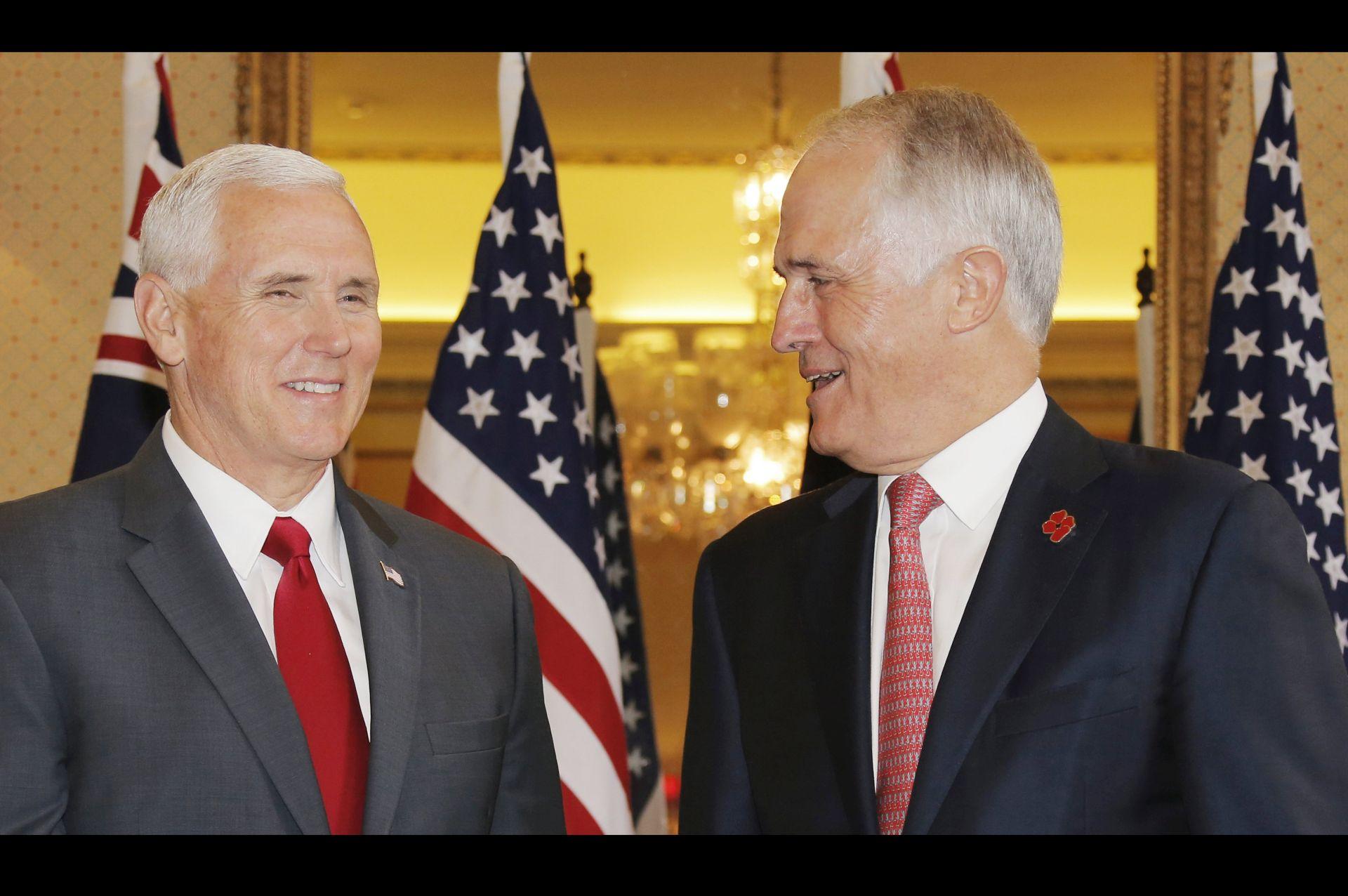 PENCE 'SAD će poštovati sporazum o izbjeglicama s Australijom'