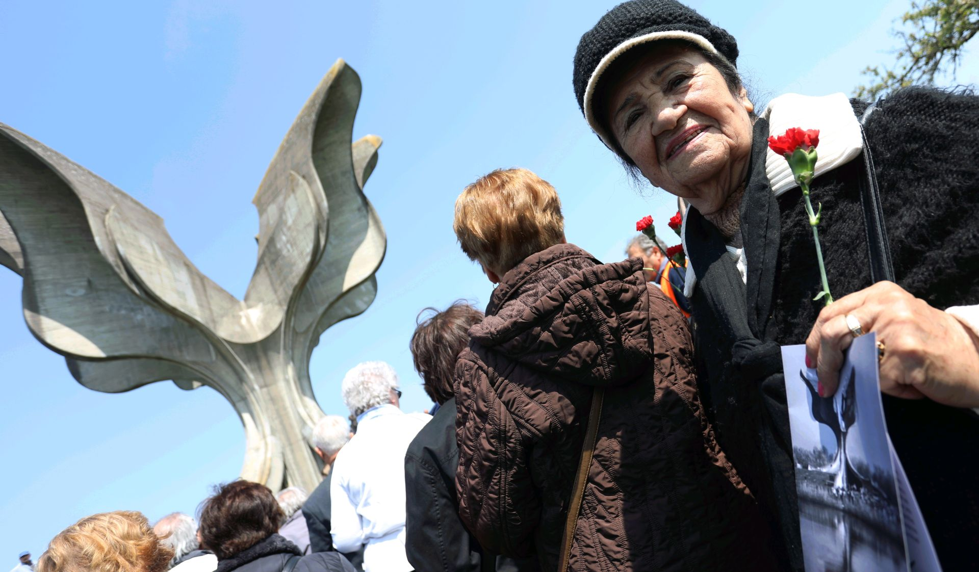 Komemoracija žrtvama Jasenovca u organizaciji Saveza antifašističkih boraca i SNV-a