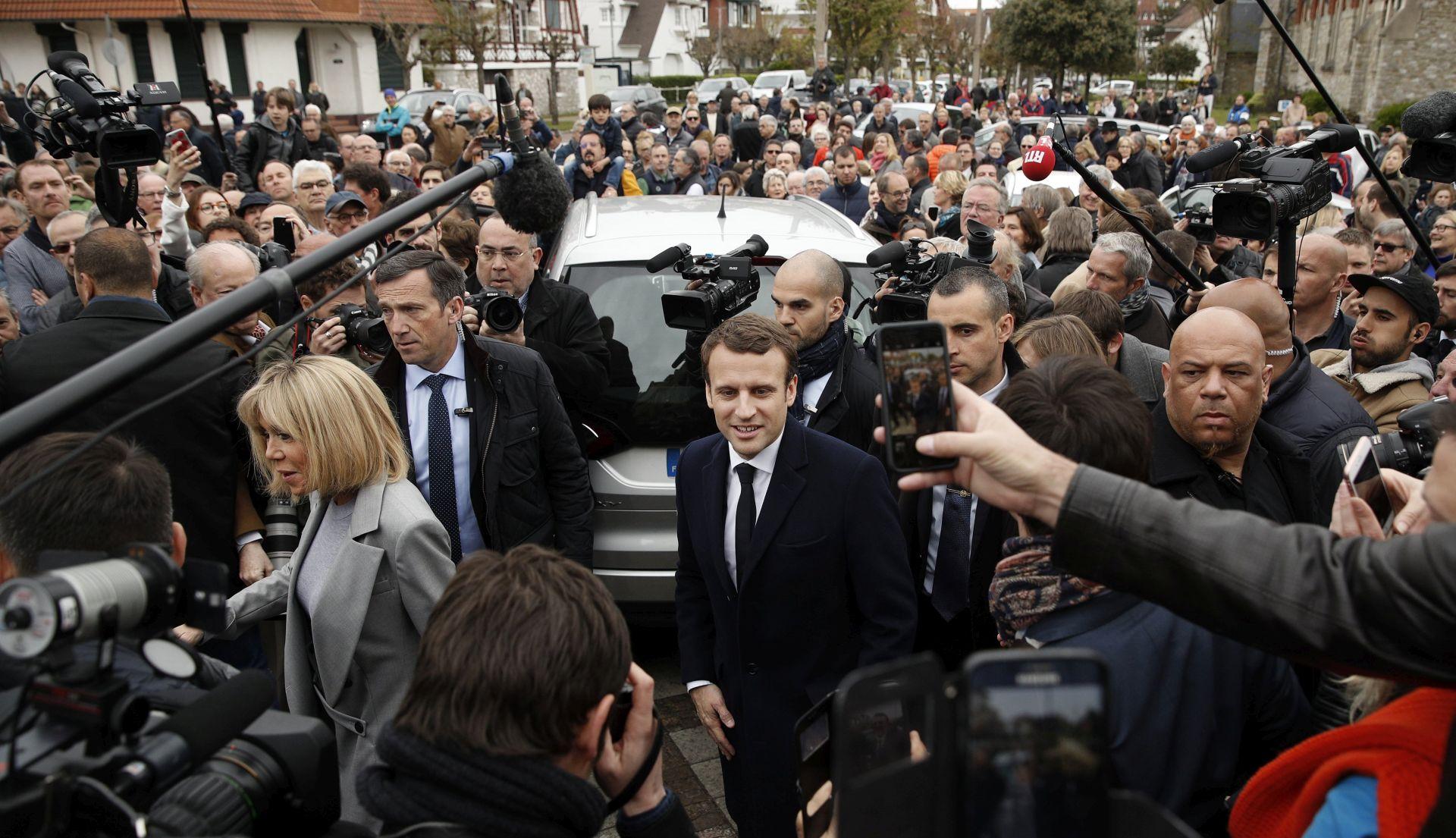 Odziv na francuskim predsjedničkim izborima neznatno veći od prošlih izbora