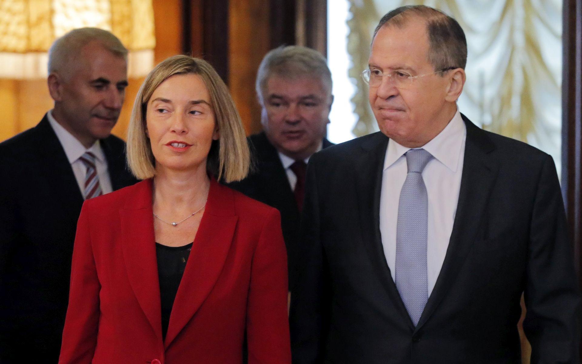 Mogherini u prvom službenom posjetu Moskvi