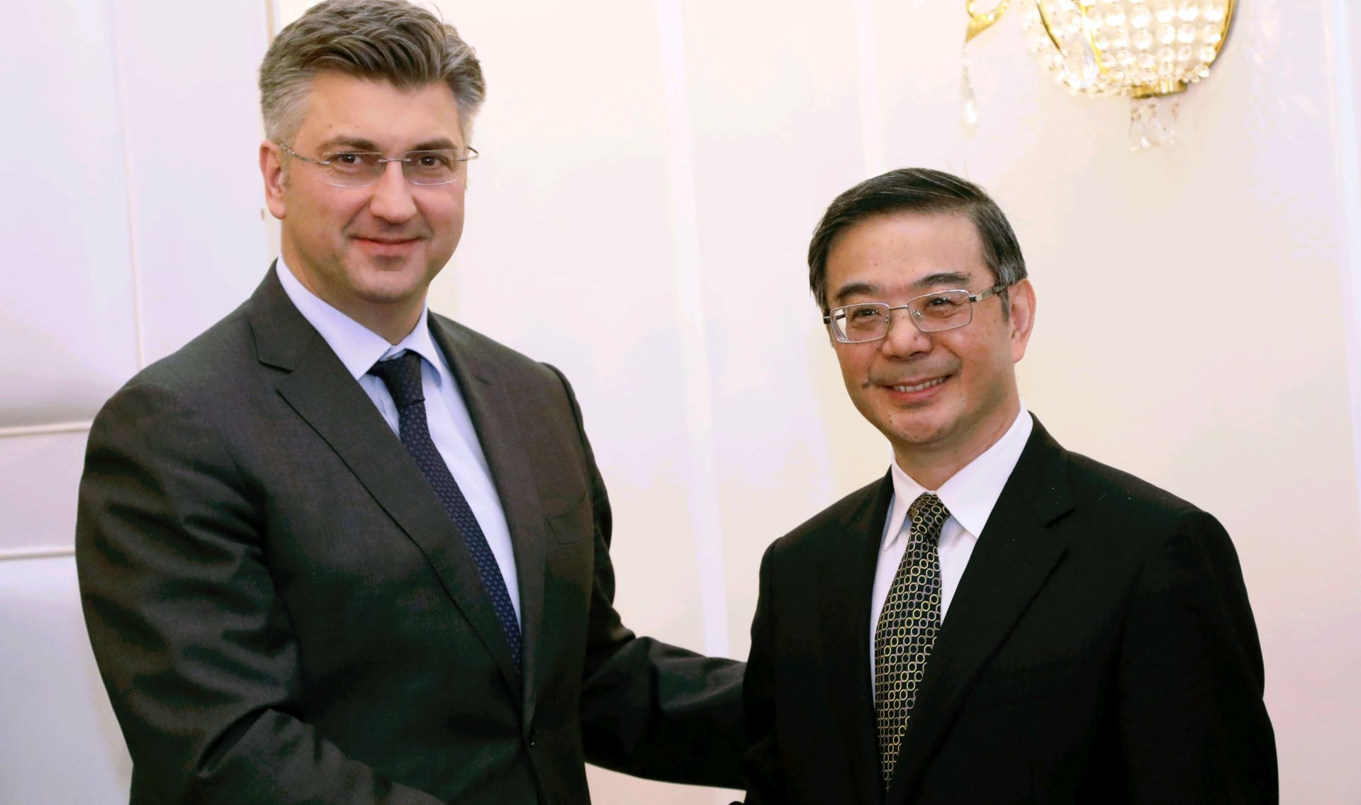 Plenković primio predsjednika Vrhovnog narodnog suda Kine