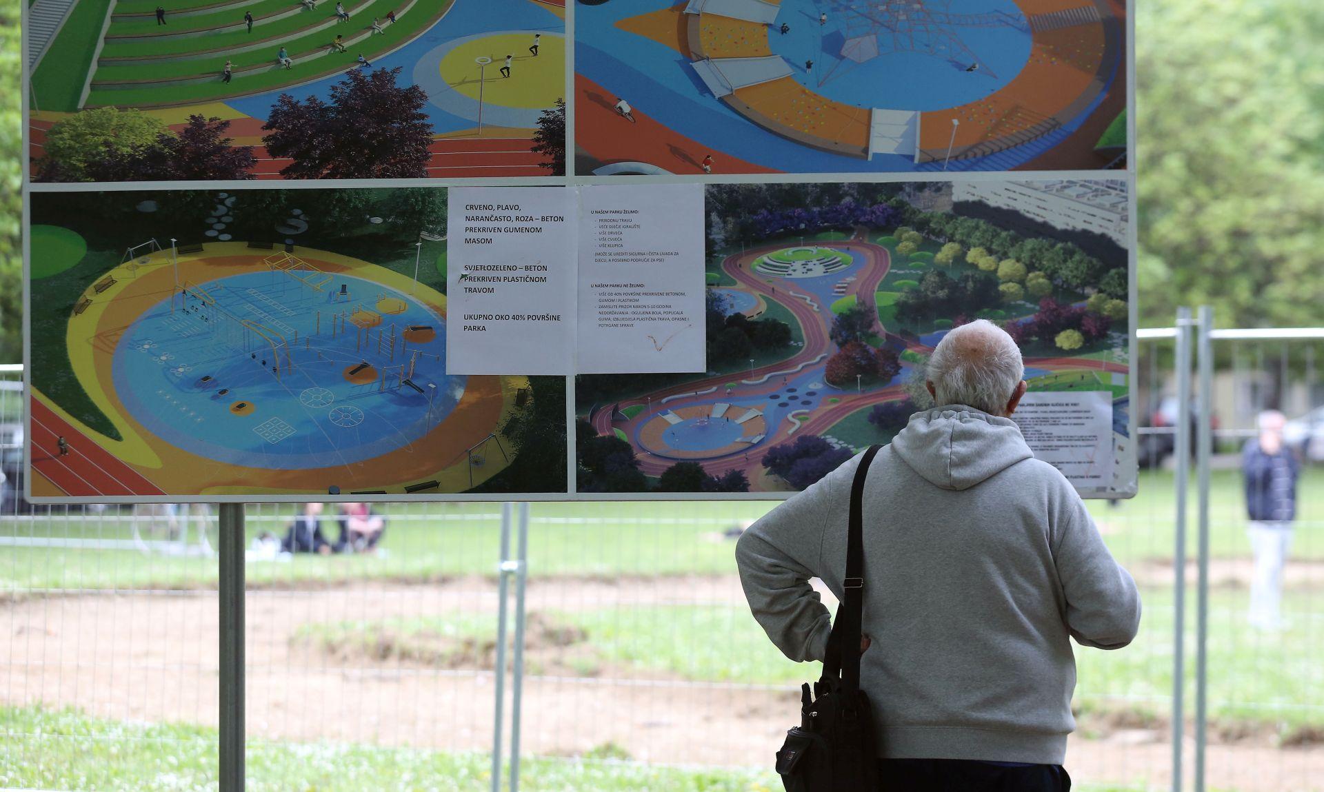 Inicijativa 'Čuvamo naš park' zatražila zaštitu stanovnika od nedemokratskih postupaka