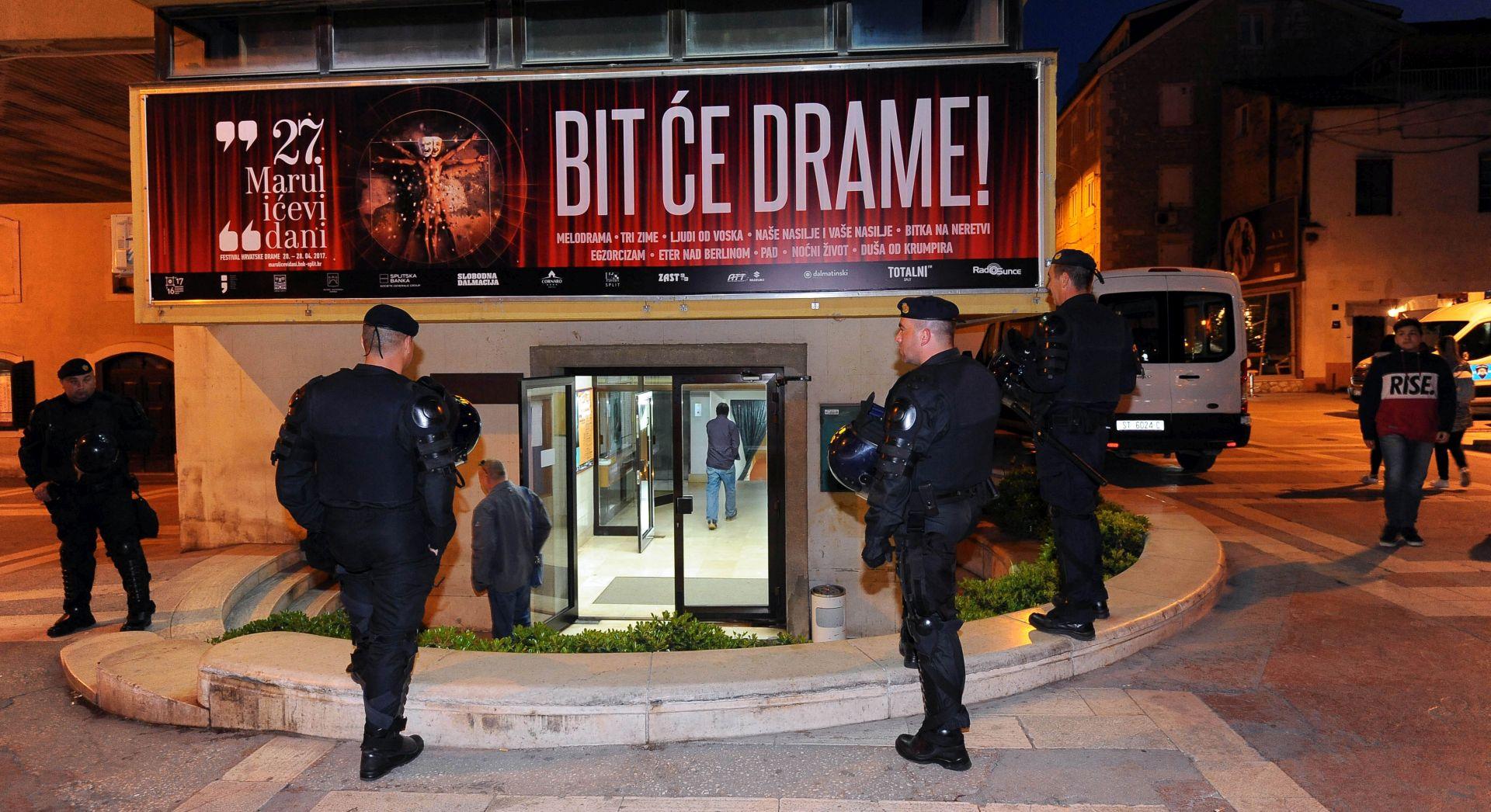 SPLIT Nakon prosvjeda protiv Frljićeve predstave optužni prijedlozi protiv 18 osoba
