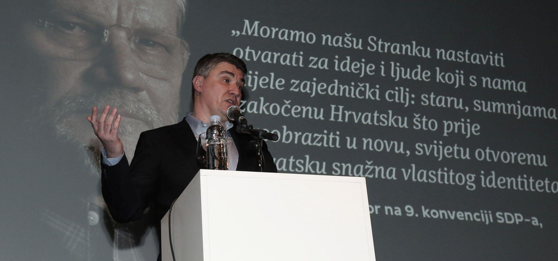 """MILANOVIĆ """"Ovo je jedna prava mala kriza Hrvatske, to je nedopustivo"""""""